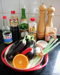 ingredienten aubergine tarte tatin