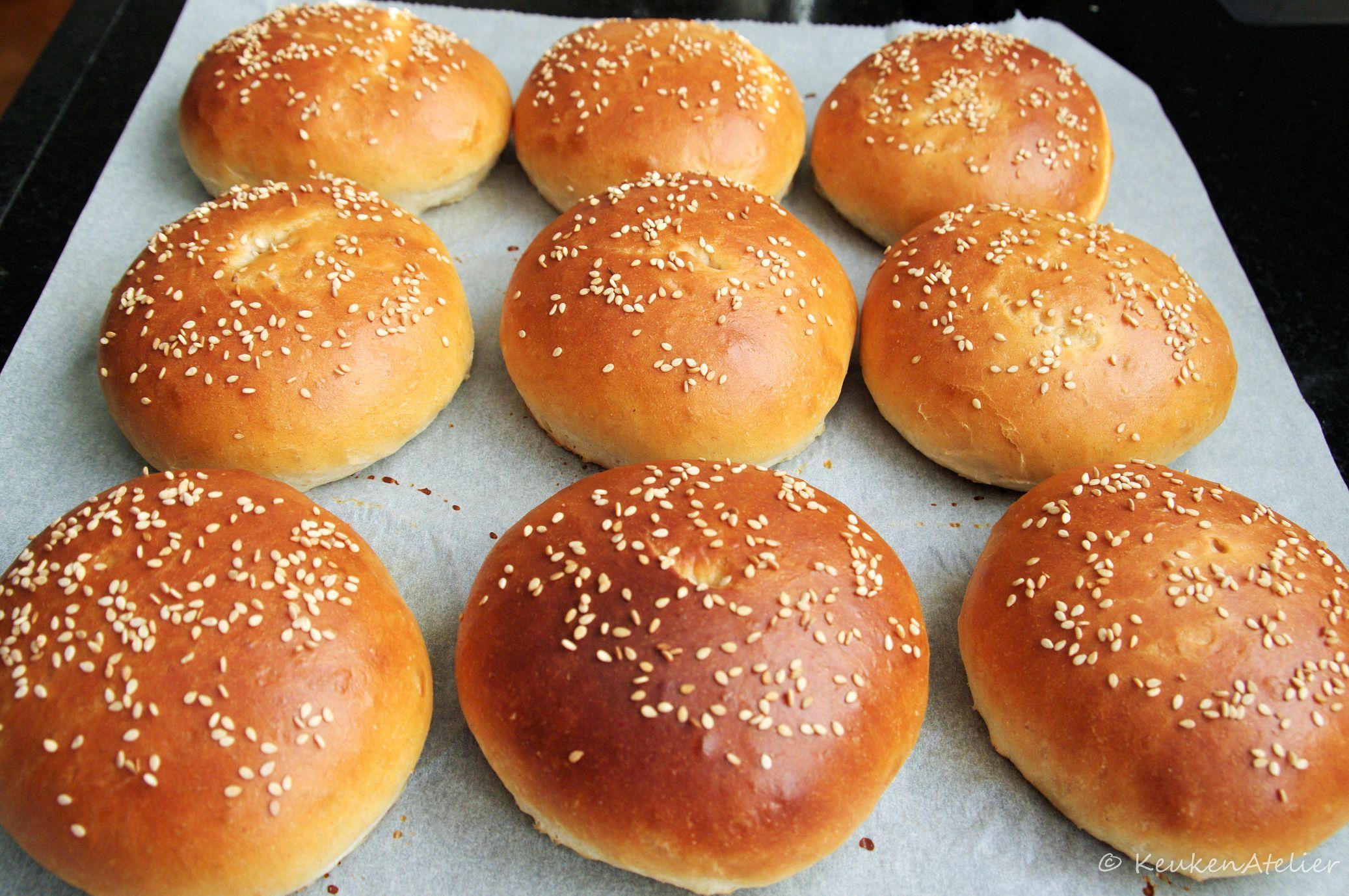 hamburger broodjes 1
