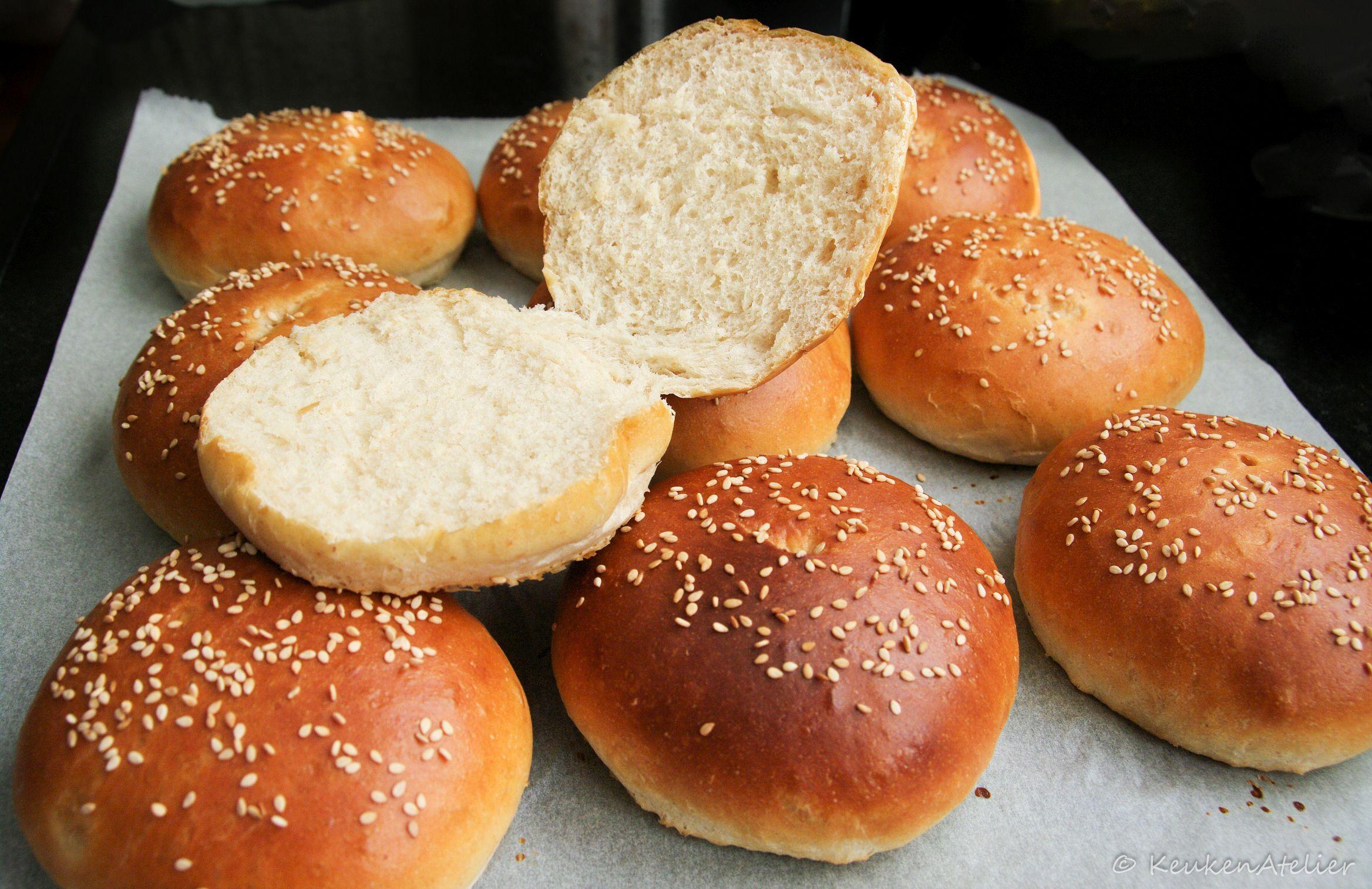 hamburger broodjes 2