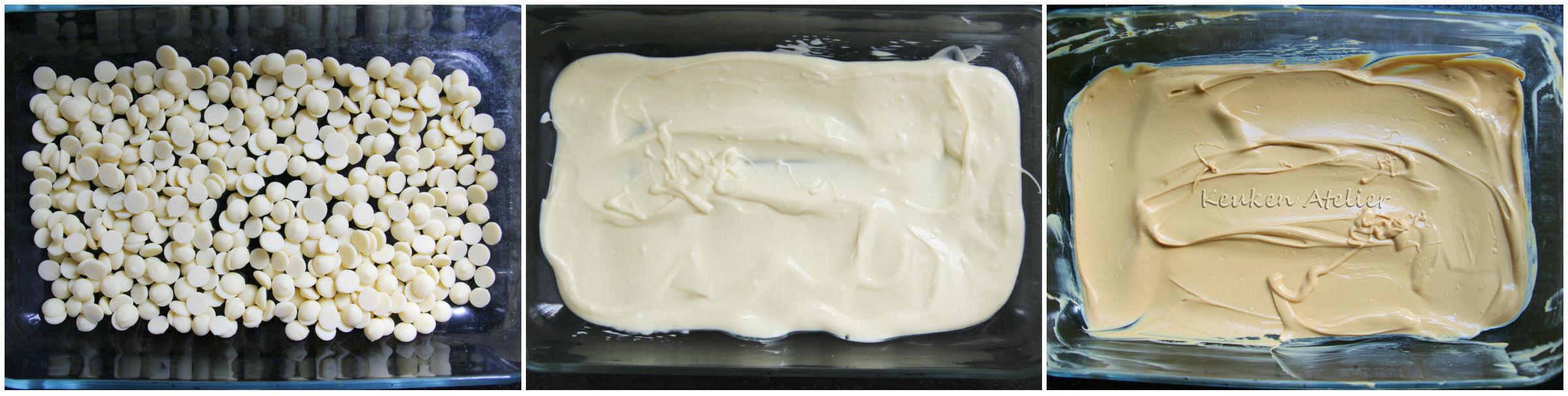 Gekarameliseerd witte chocolade 2