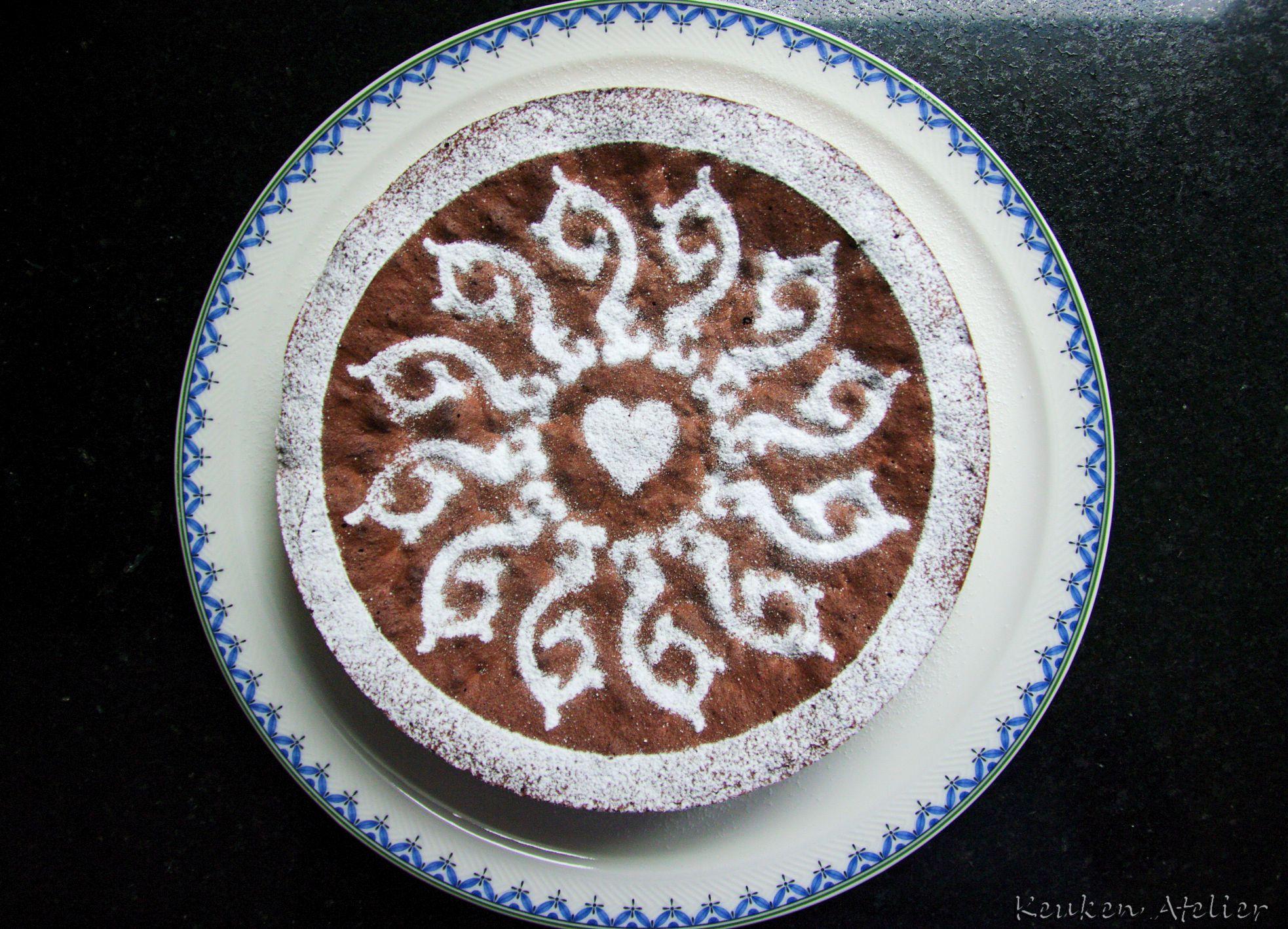 chocolade amaretti taart 2