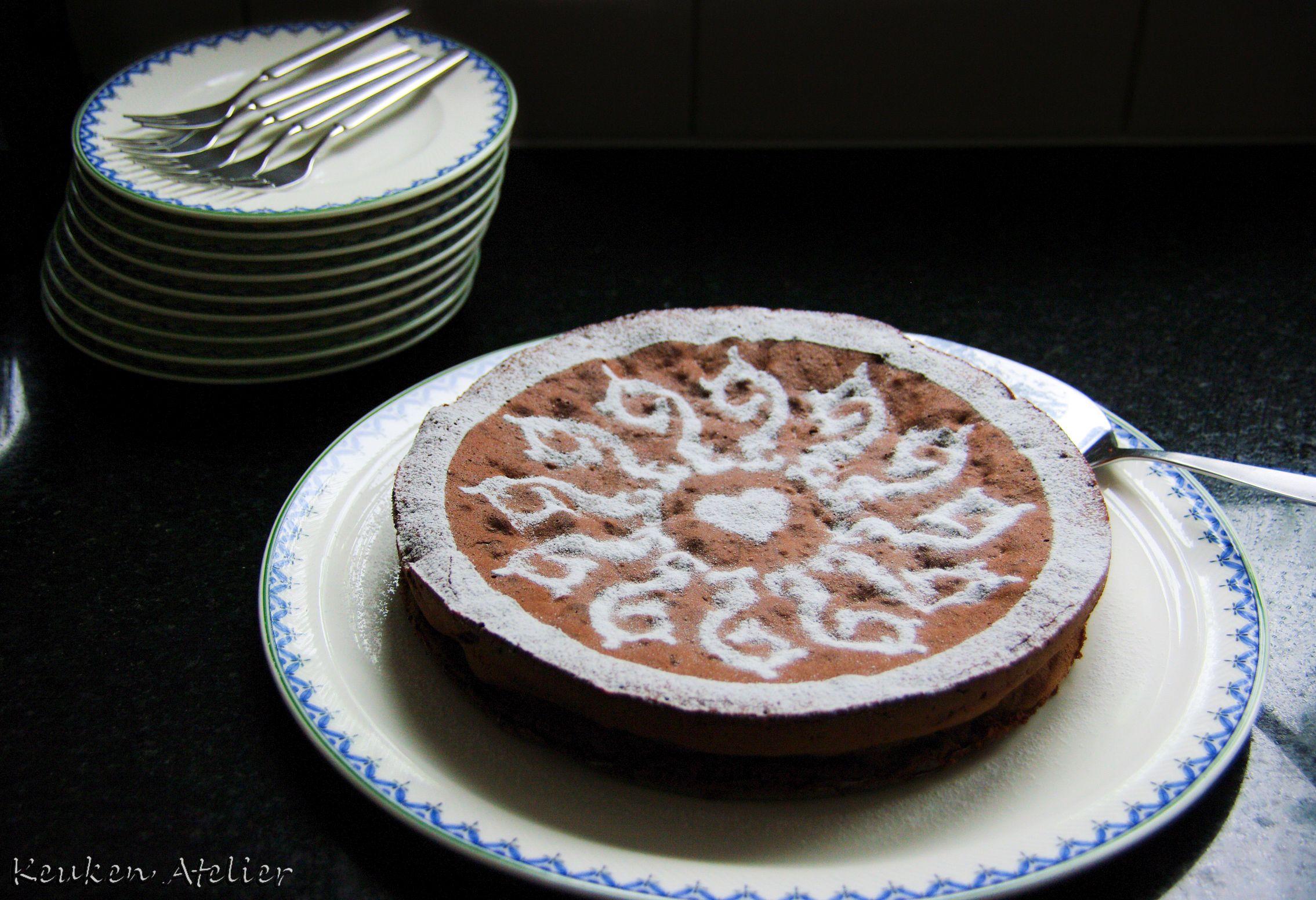 chocolade amaretti taart 3