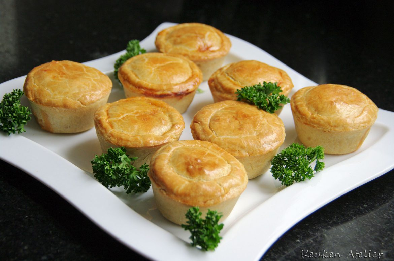 Braziliaanse Kip pasteitjes – Empadinhas de Frango