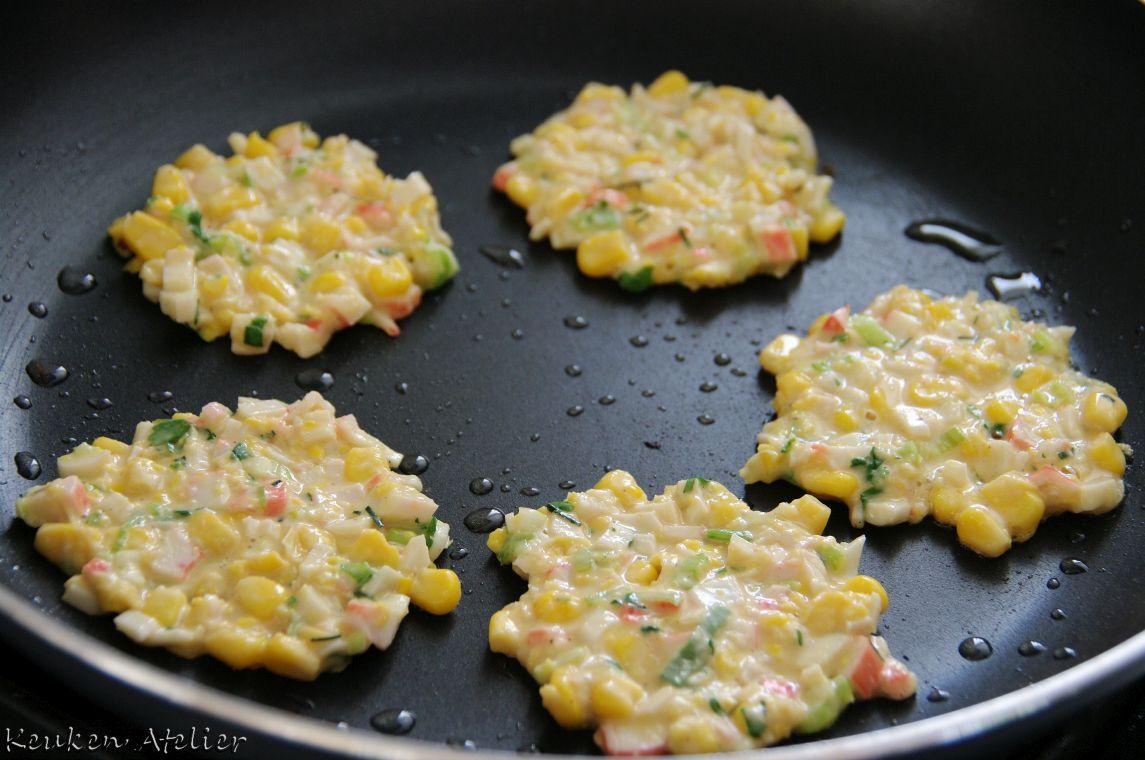 thaise mais koekjes