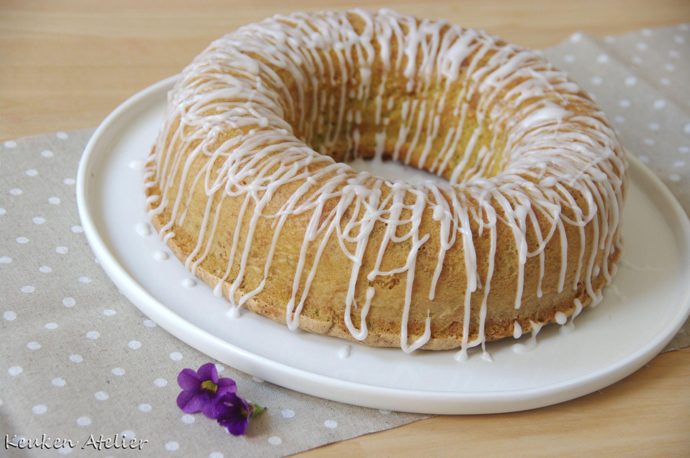 citroen courgette cake
