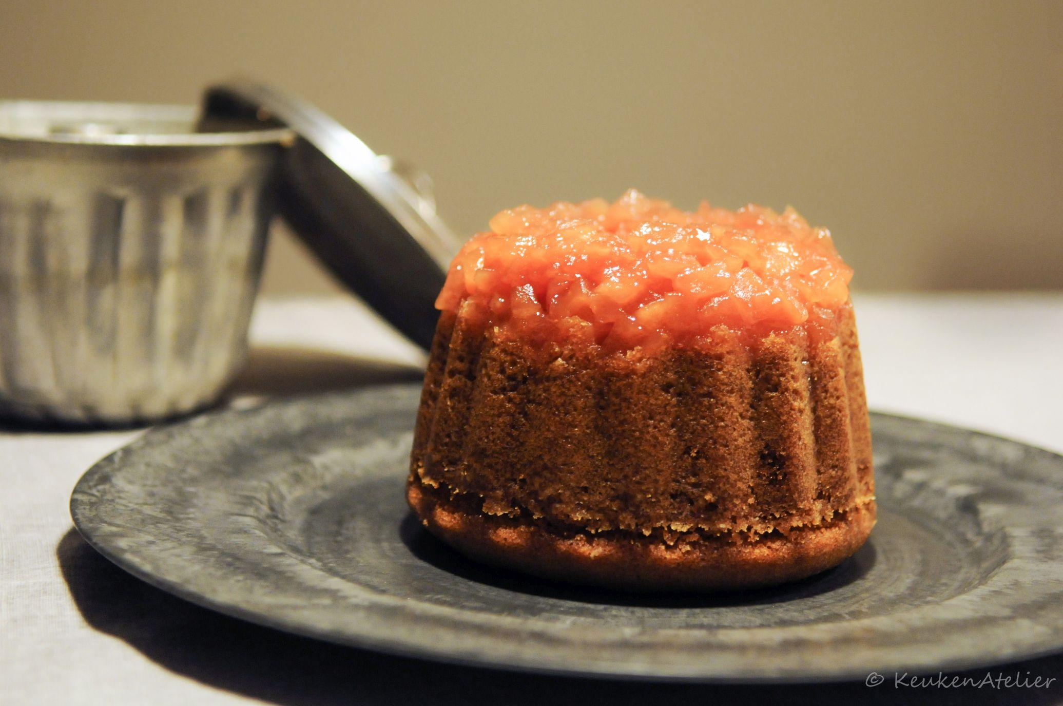 gestoomde appel karamel cake 1