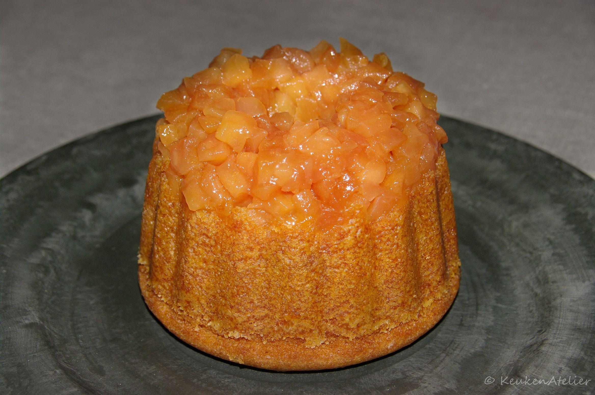 gestoomde appel karamel cake 2