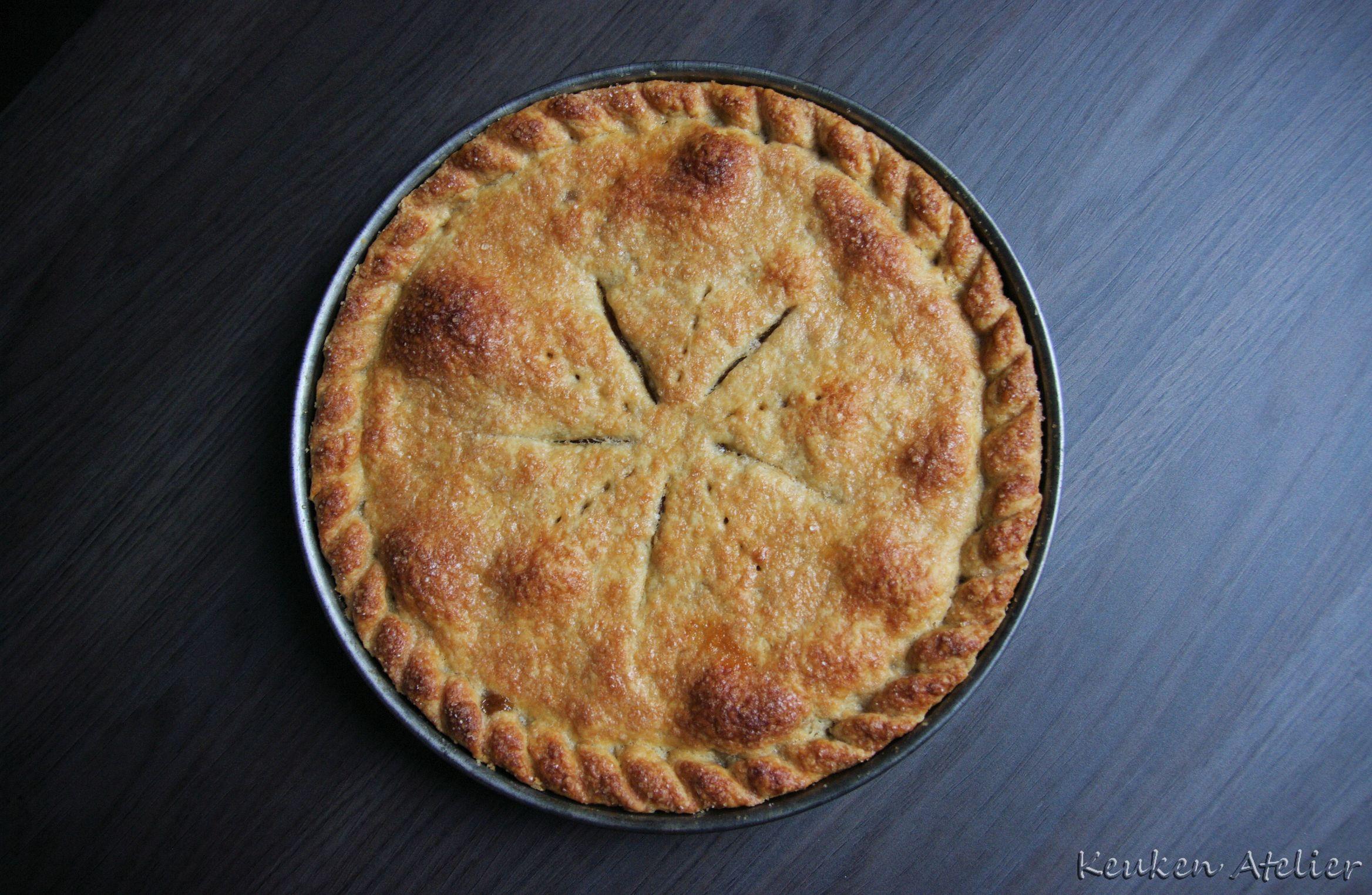 Appel Peren taart