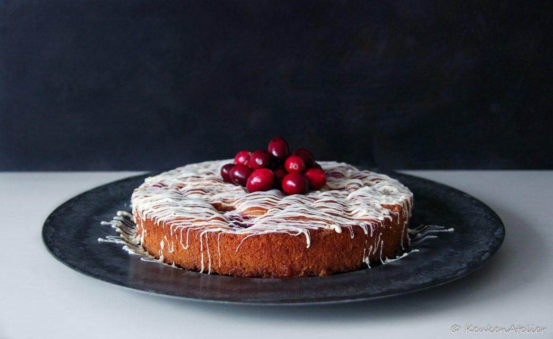 cranberry kaneel cake