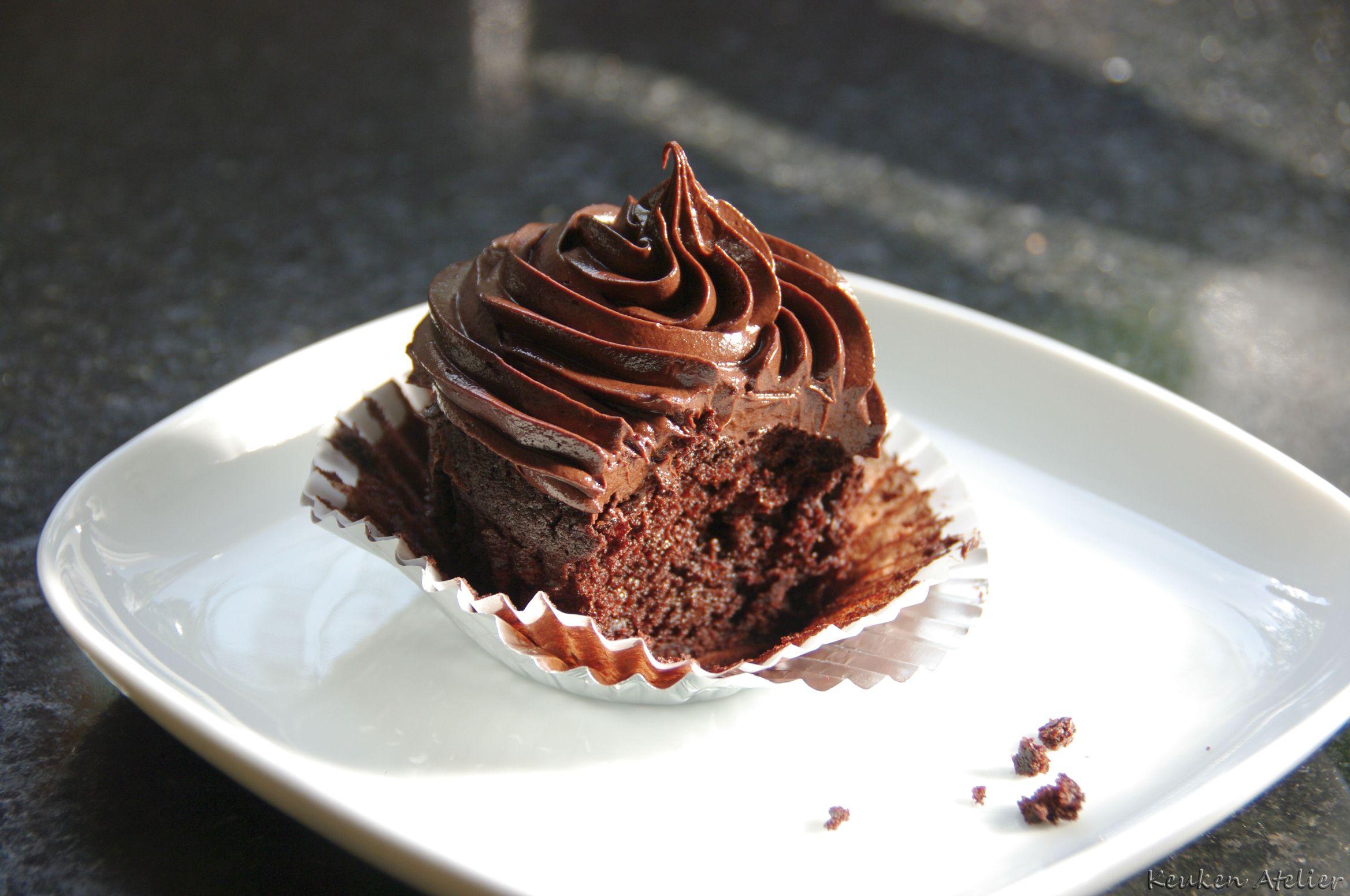 Chocolade Cupcake compr