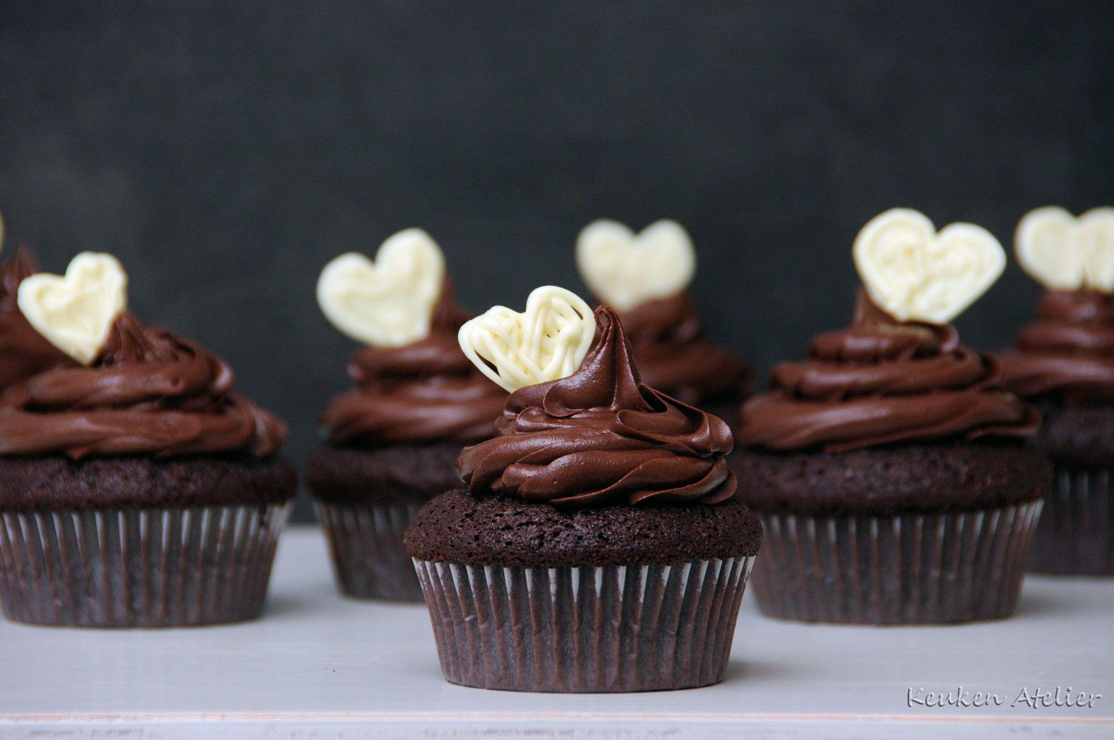 chocolade cupcakes 2