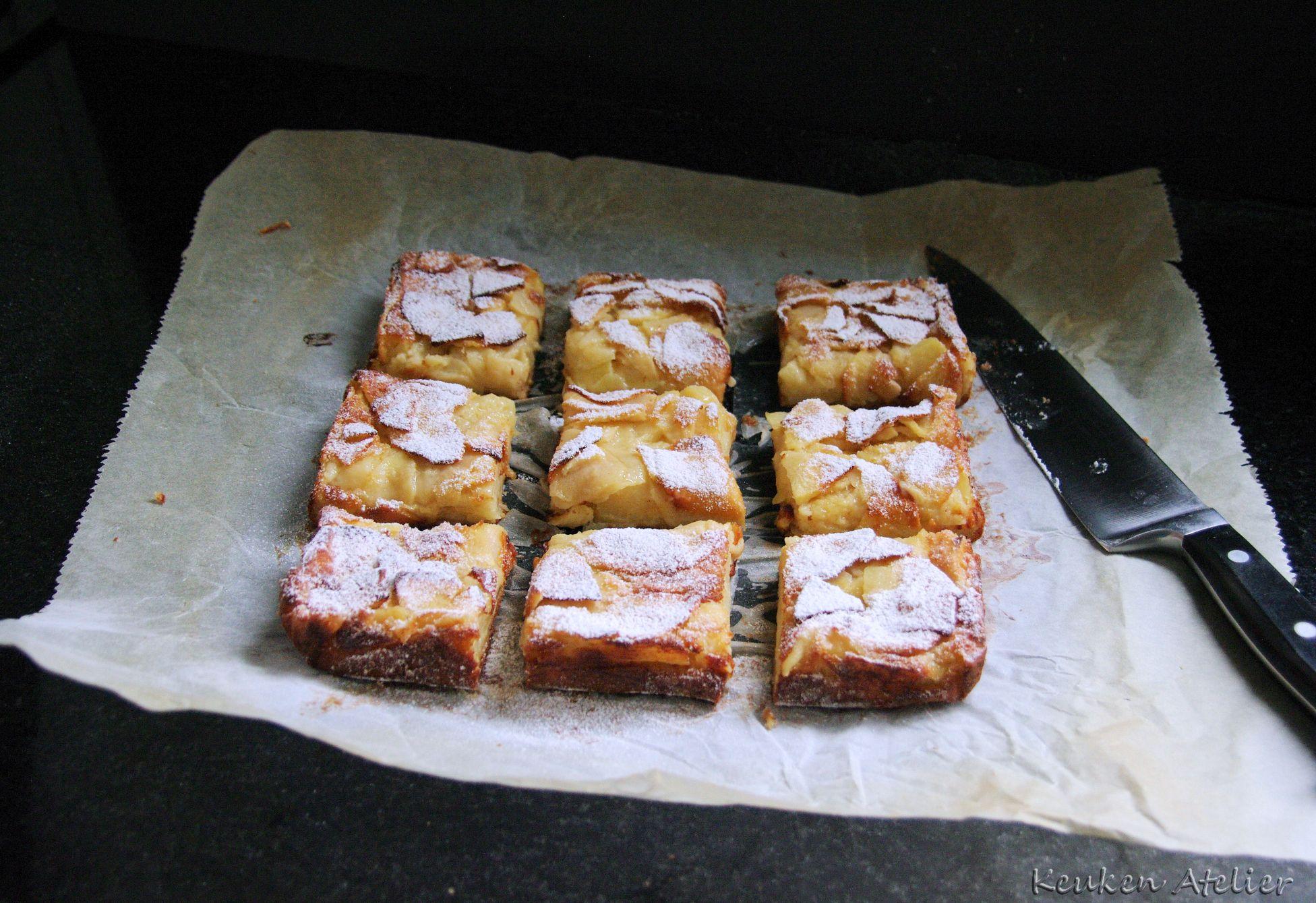 appel custard cake 4