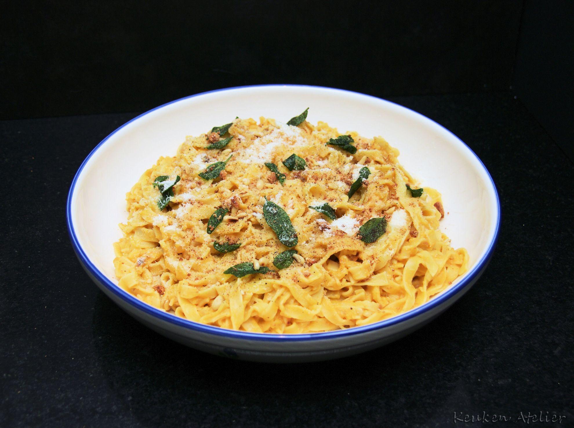 pompoen pasta