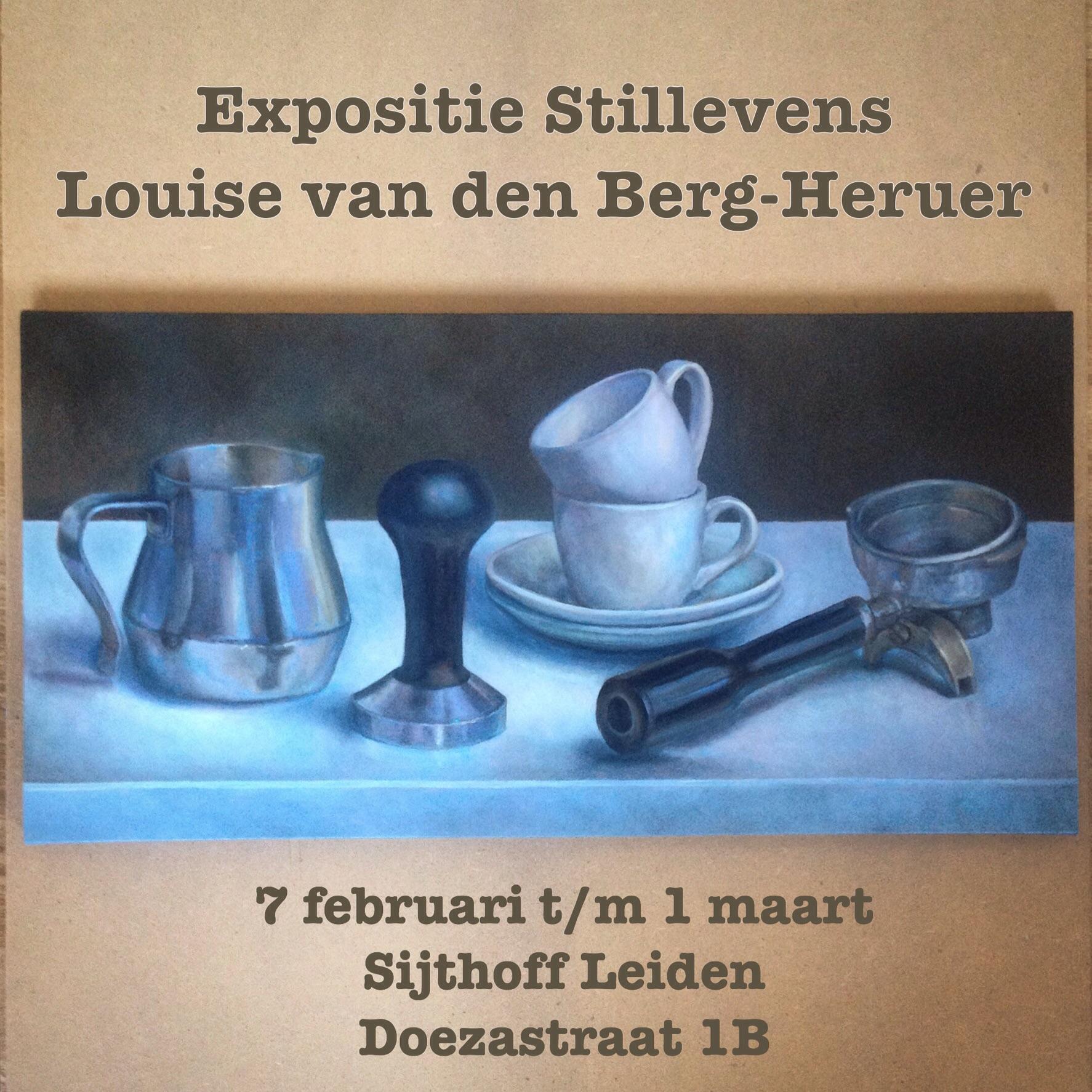 expositie Louise van den Berg