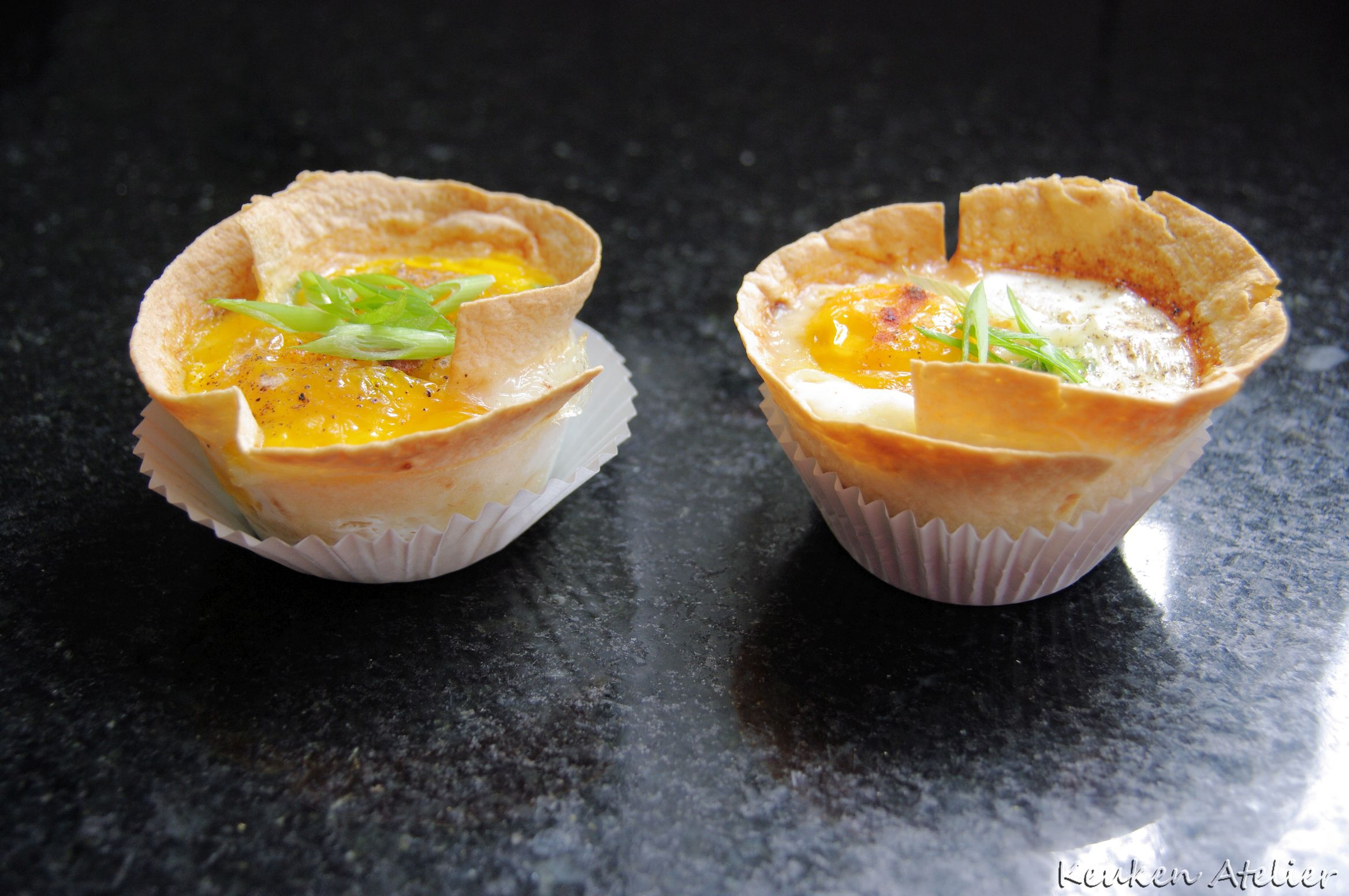 Mexican eggs cups