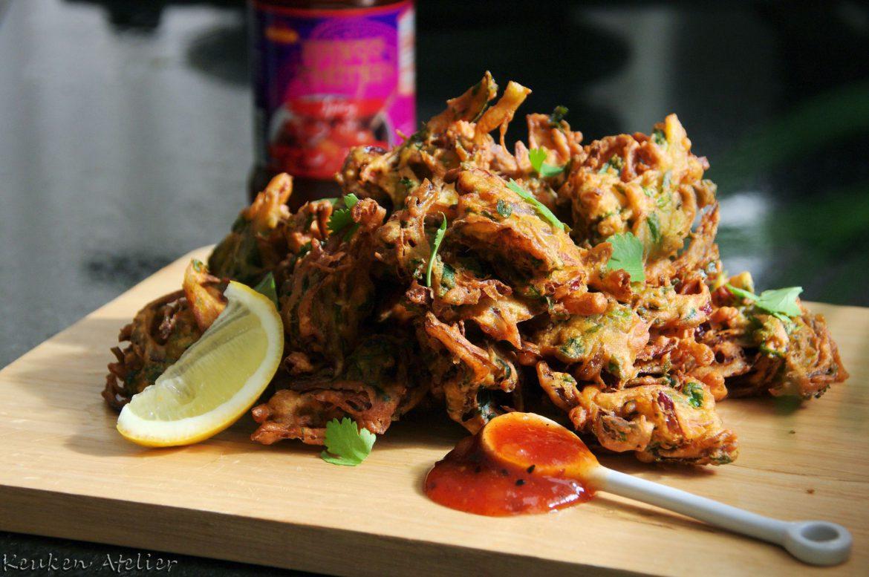 Onion Bhaji (onion pakora)