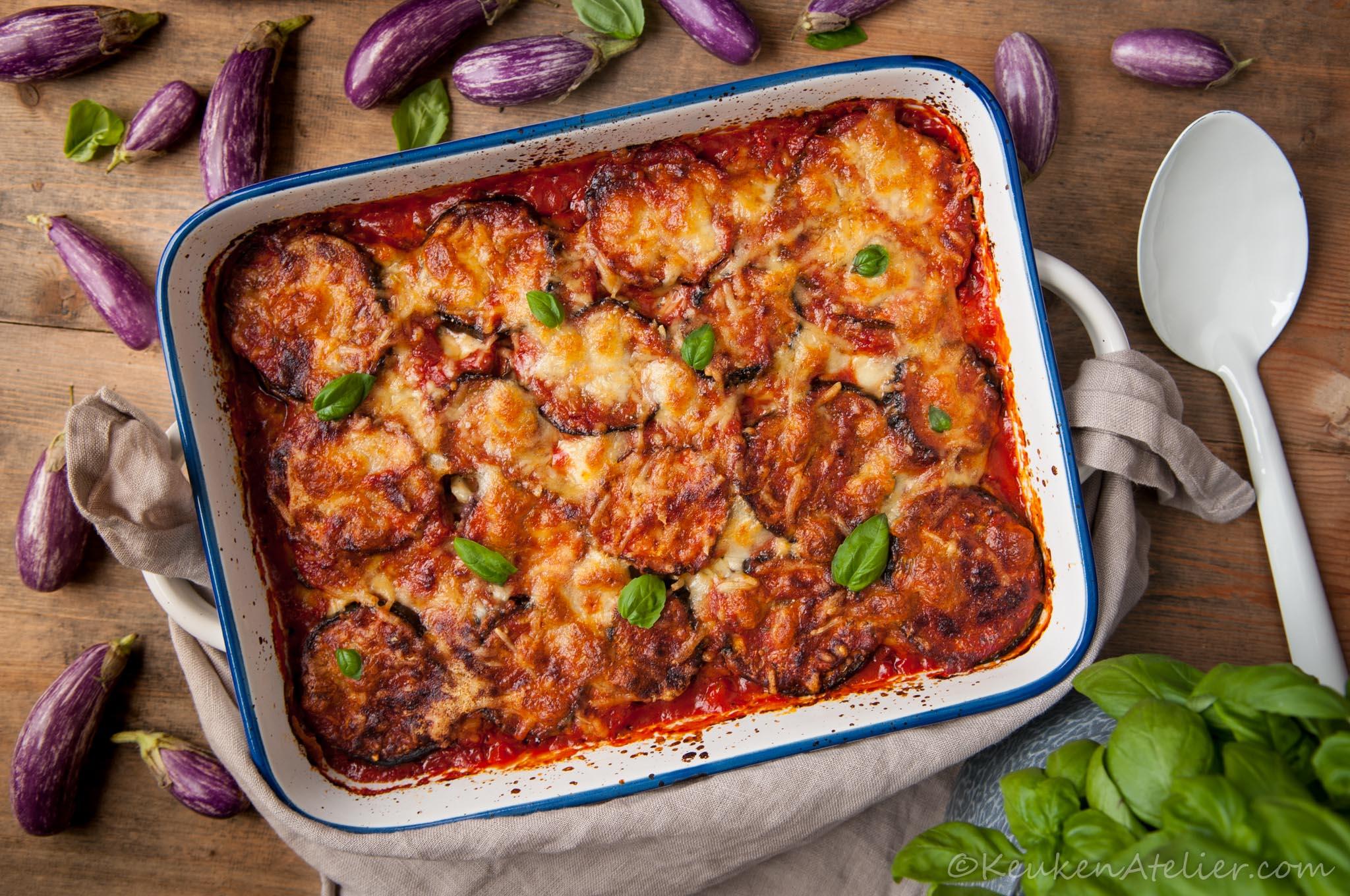 aubergine lasagne 1 | keukenatelier.com