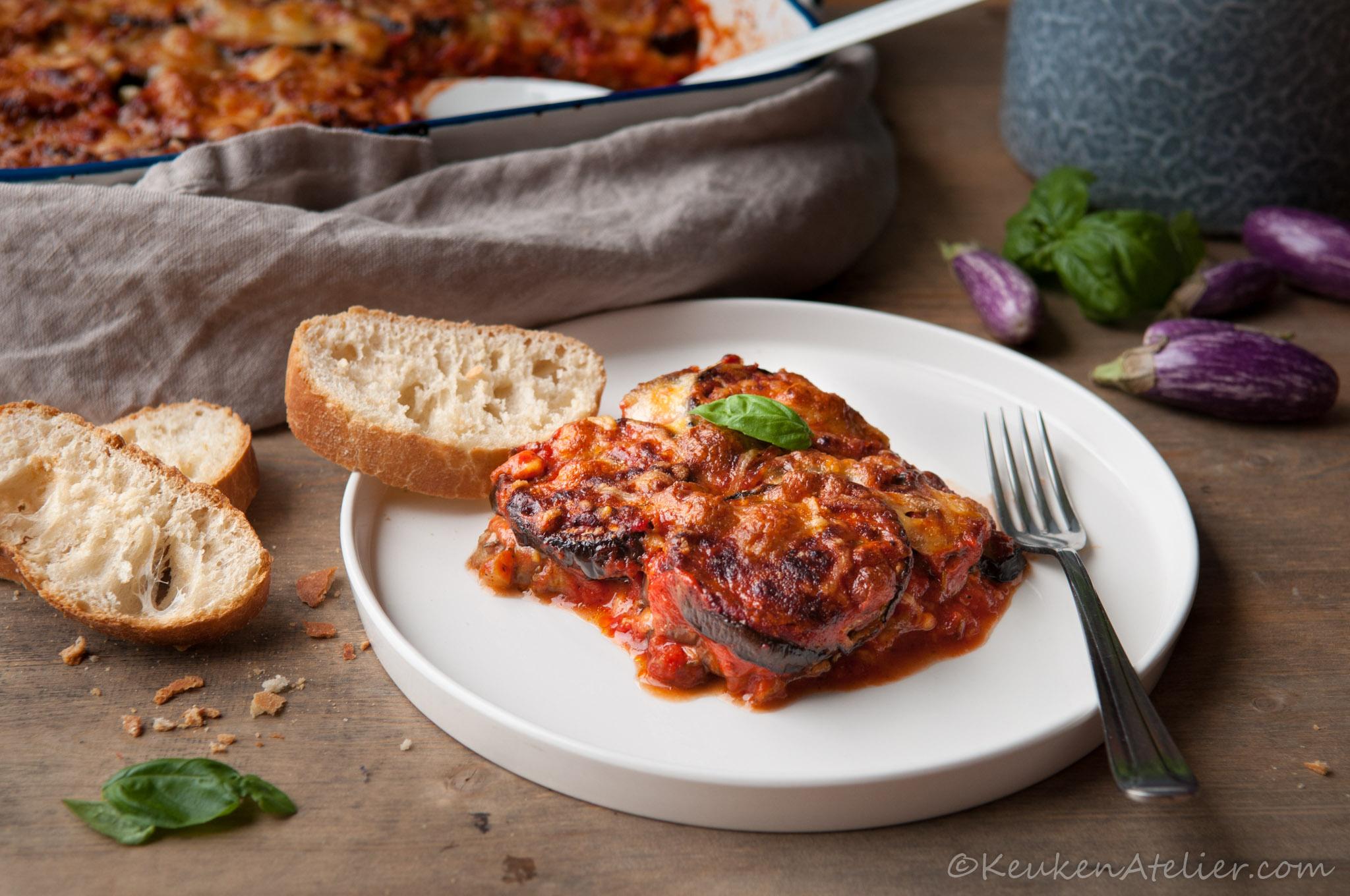 aubergine lasagne 2 keukenatelier.com