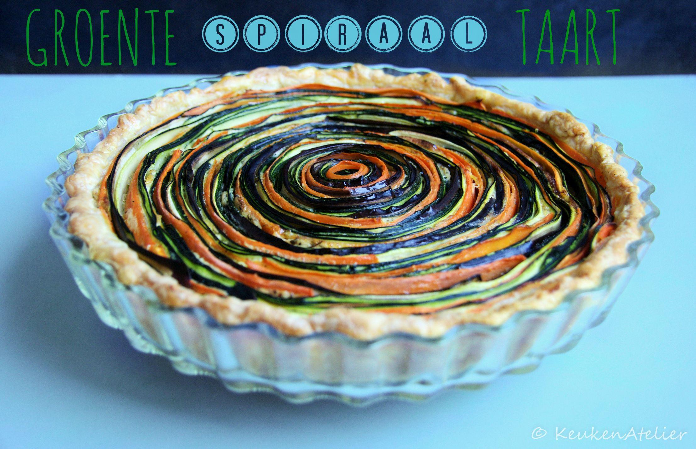 groente spiraal taart 1