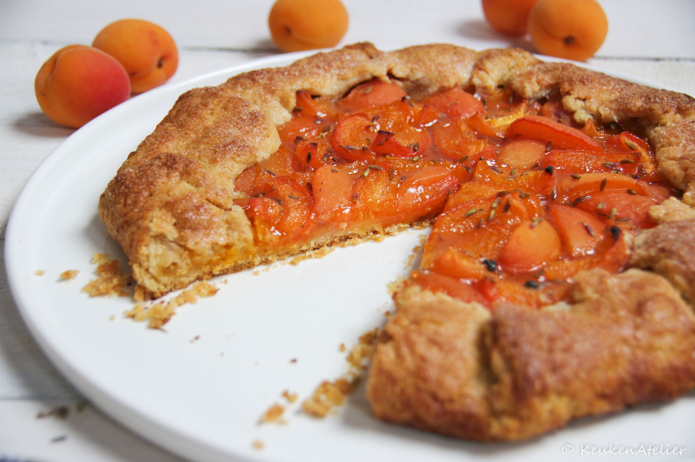 abrikozen galette 1