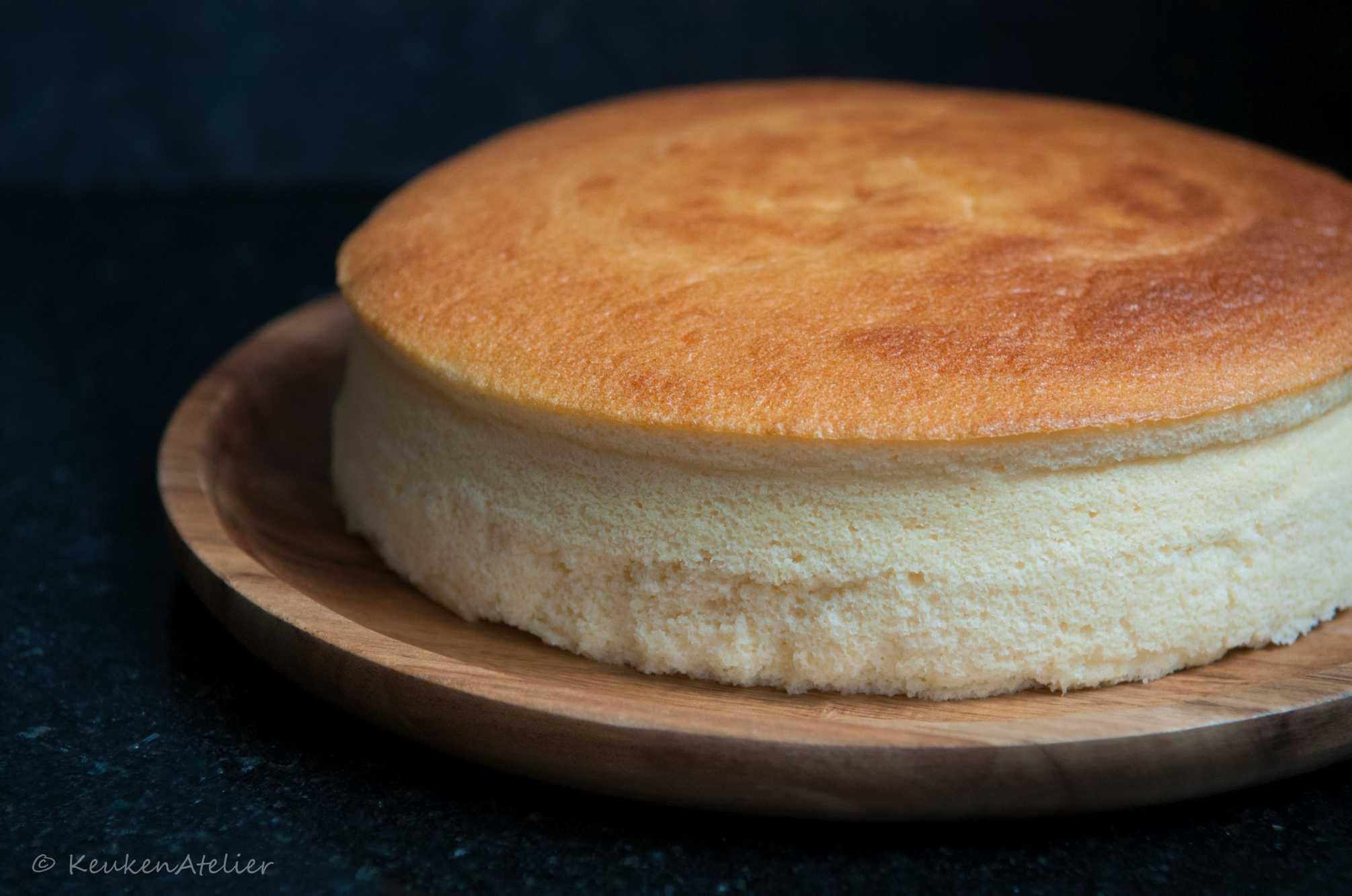 Japanse cheesecake 1