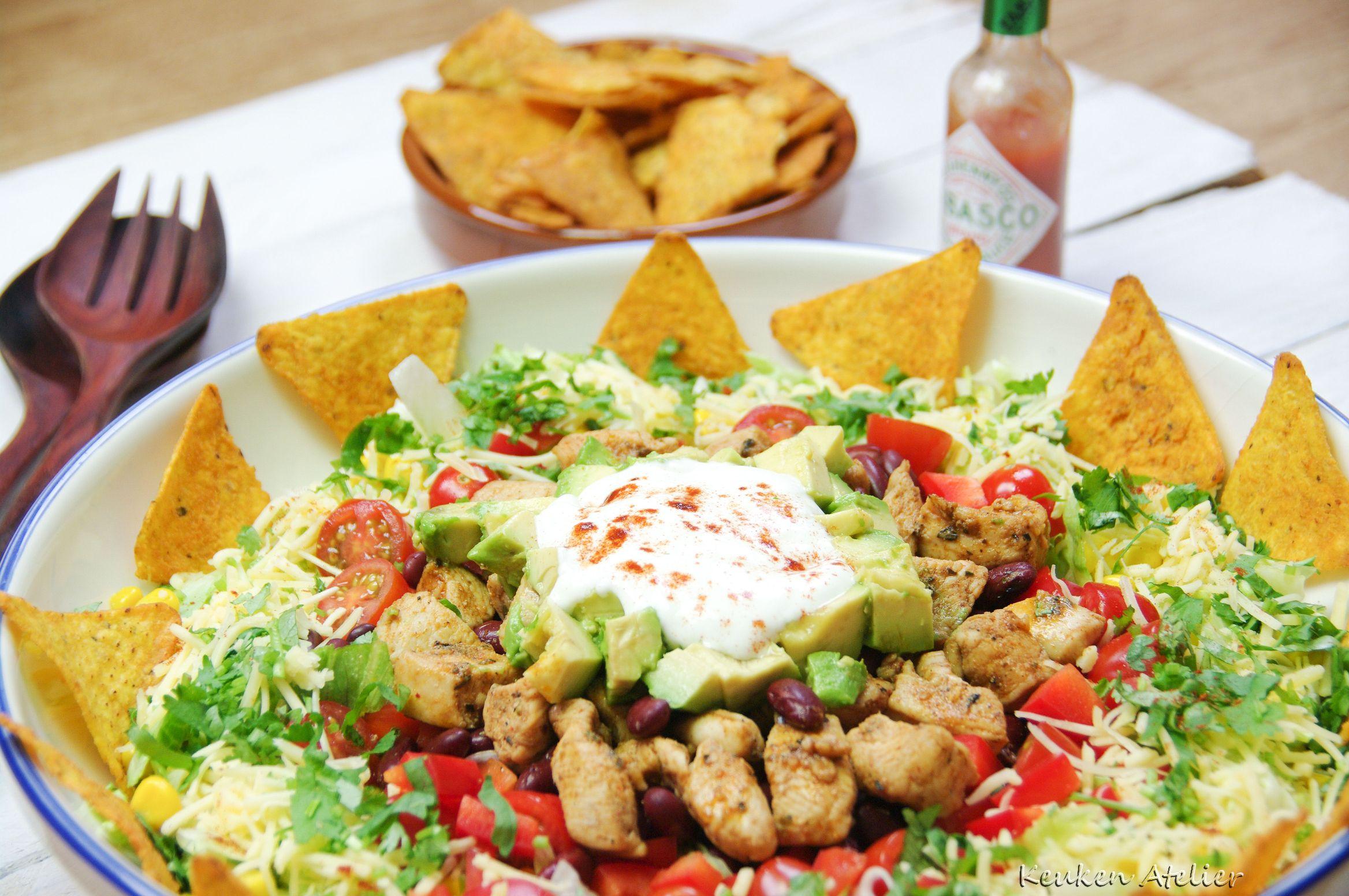 Mexicaanse maaltijdsalade 2