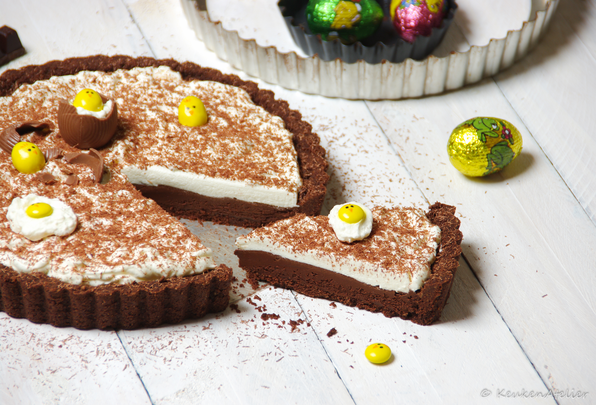 Chocolademousse taart 1