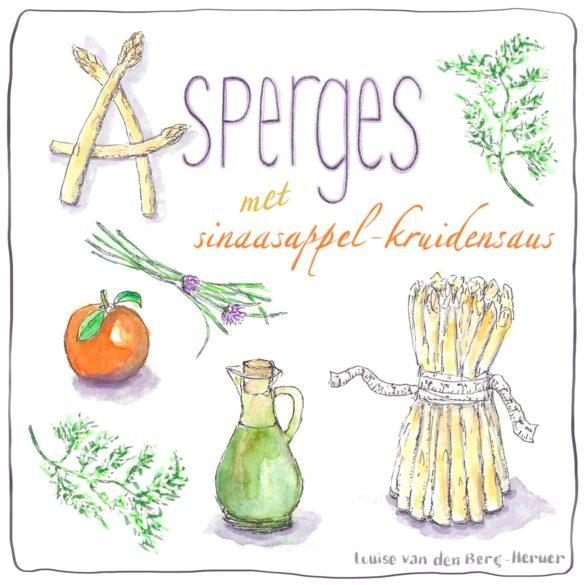 asperges met sinaasappel-kruidensaus