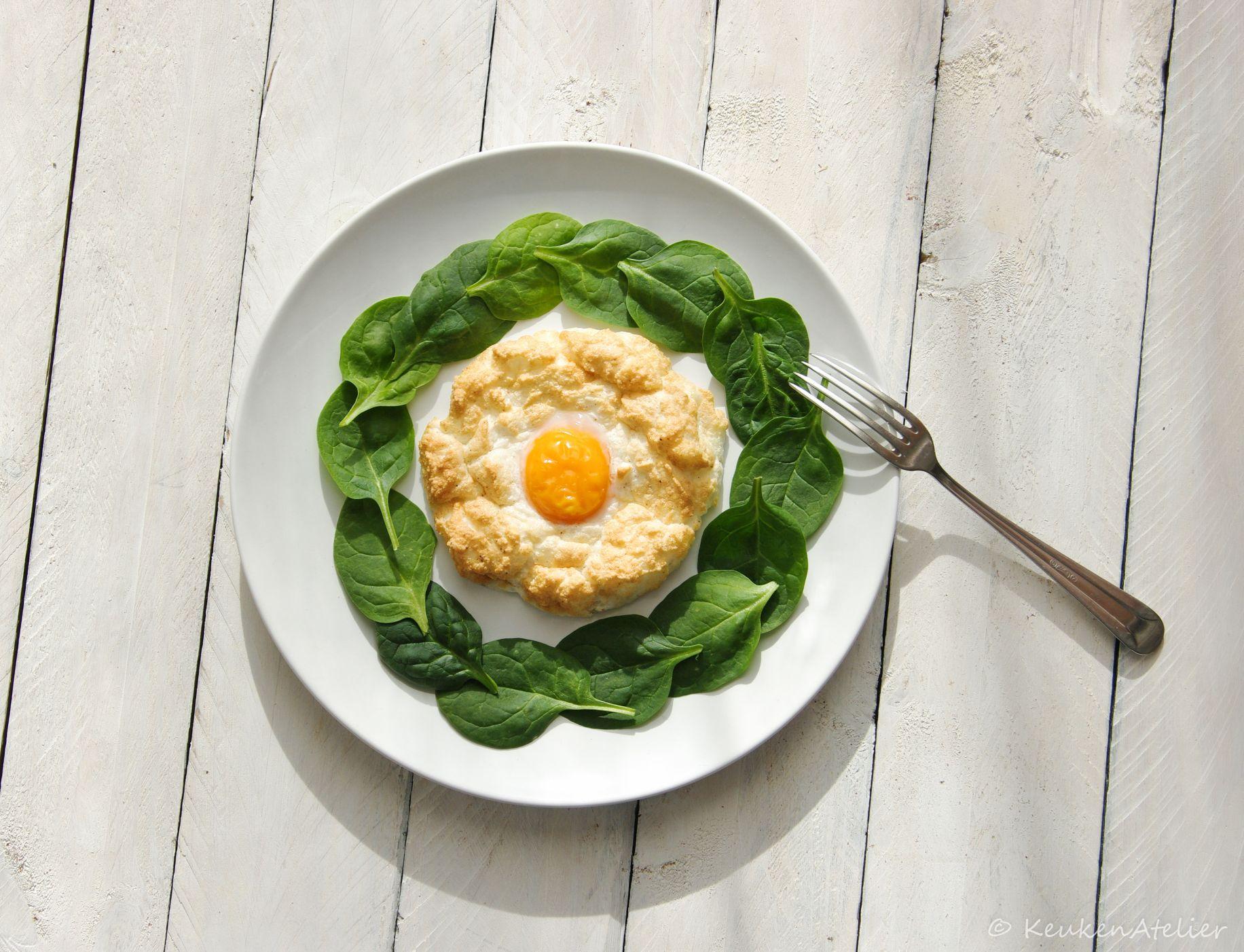 luchtige ei nestjes uit de oven 1