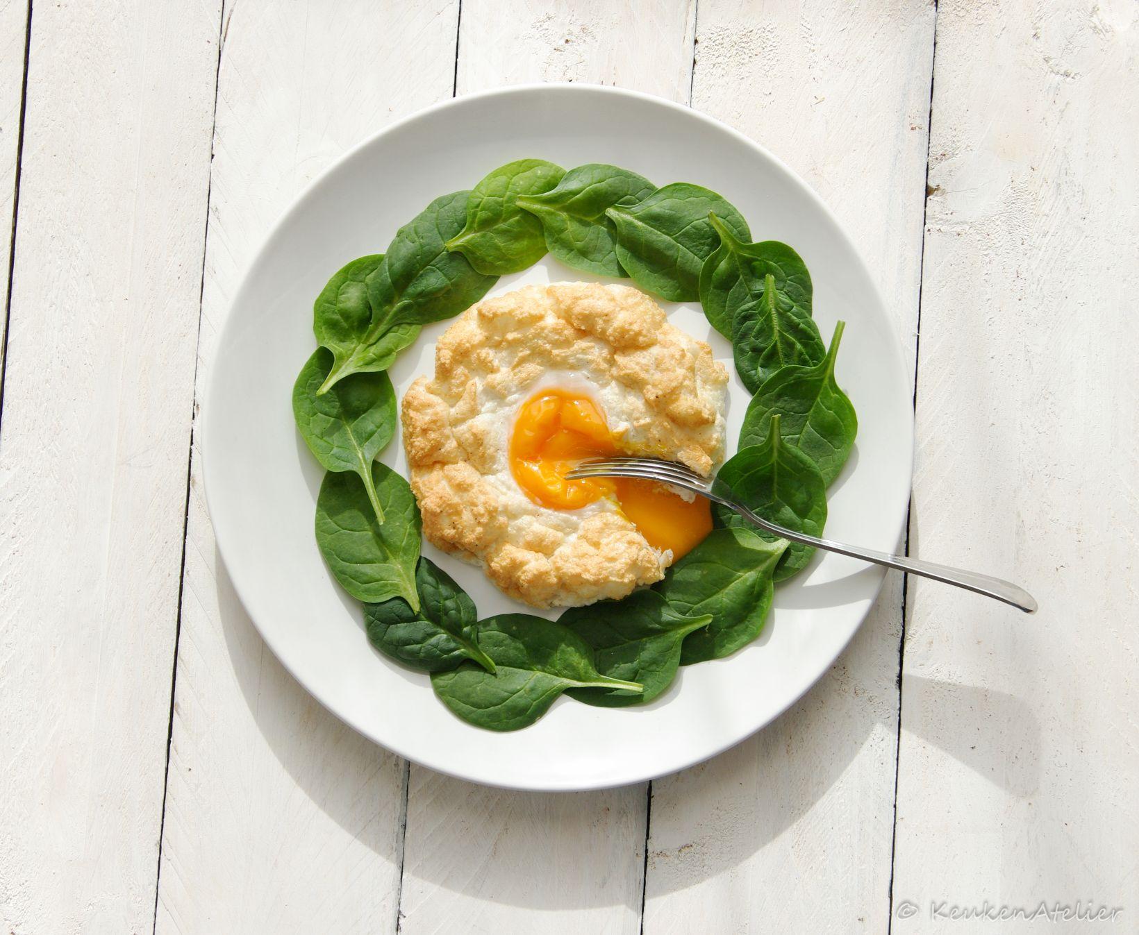 luchtige ei nestjes uit de oven 2