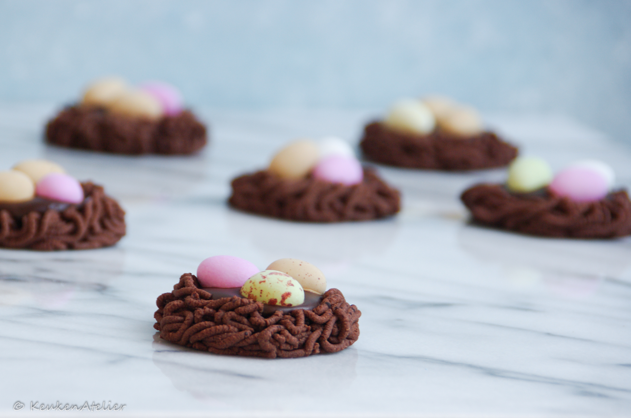 chocolade koek nestjes 2