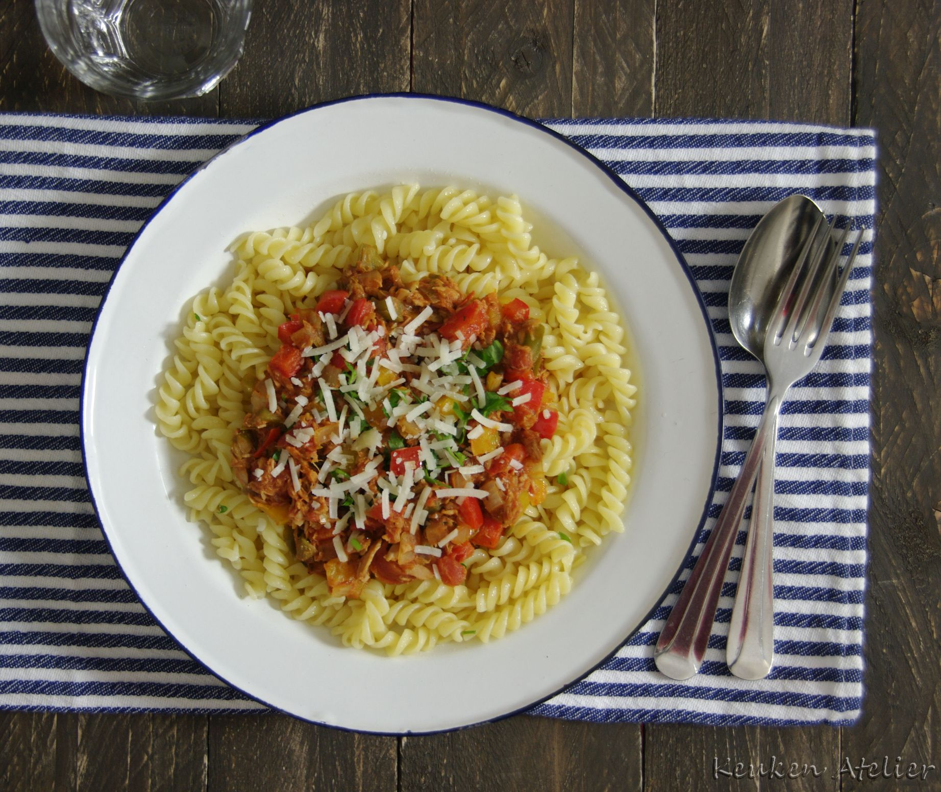 Paprika Tonijn Pasta 2