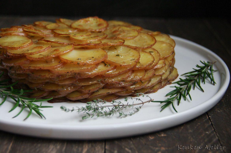 Aardappelgratin (slanke versie)