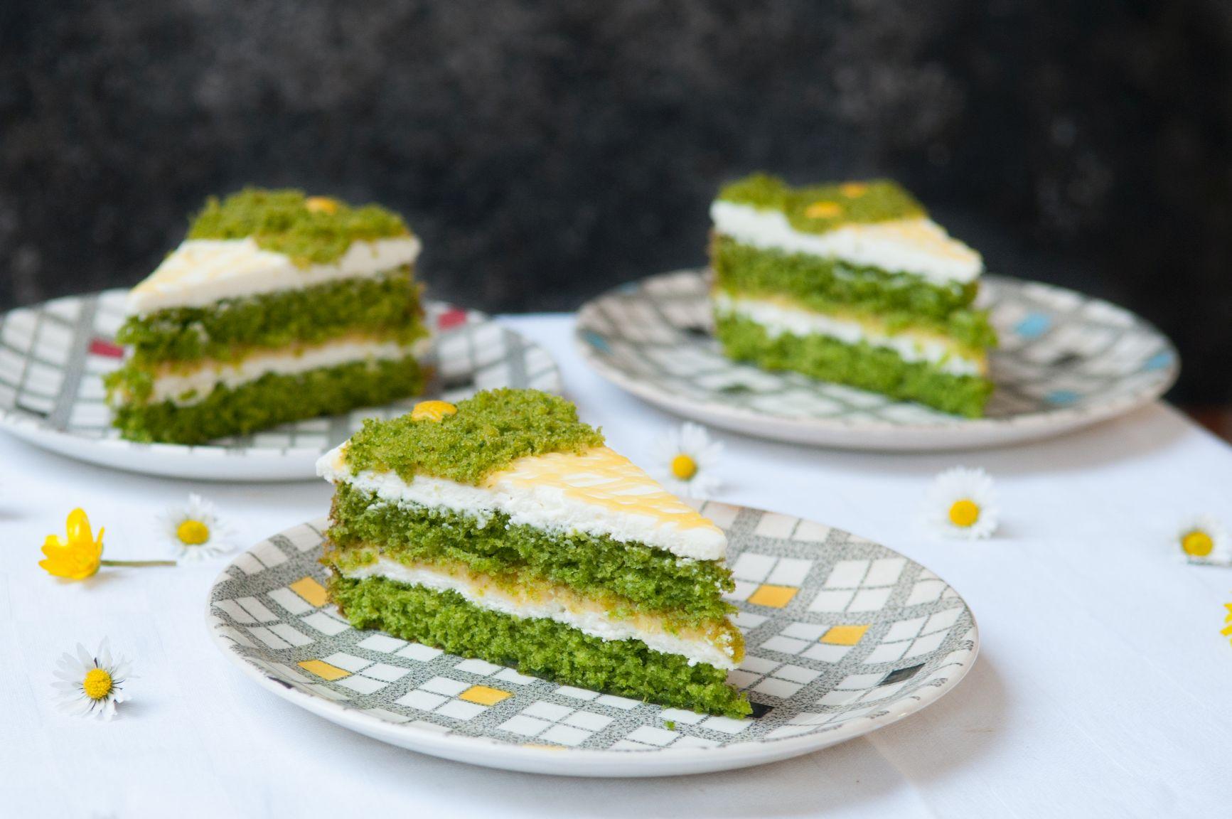 Green Velvet Taart 3