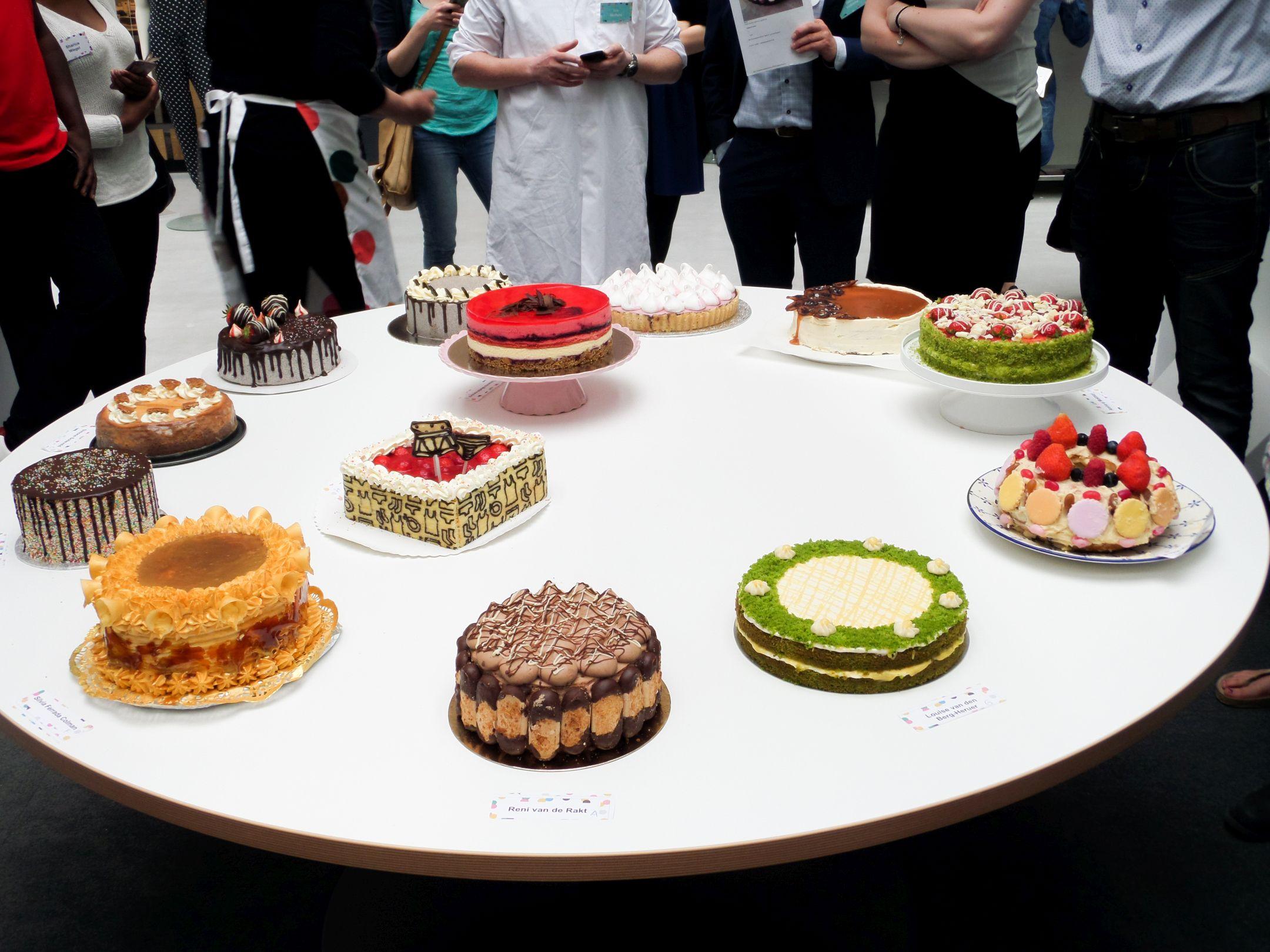 13 taarten in de laatste creatieve ronde