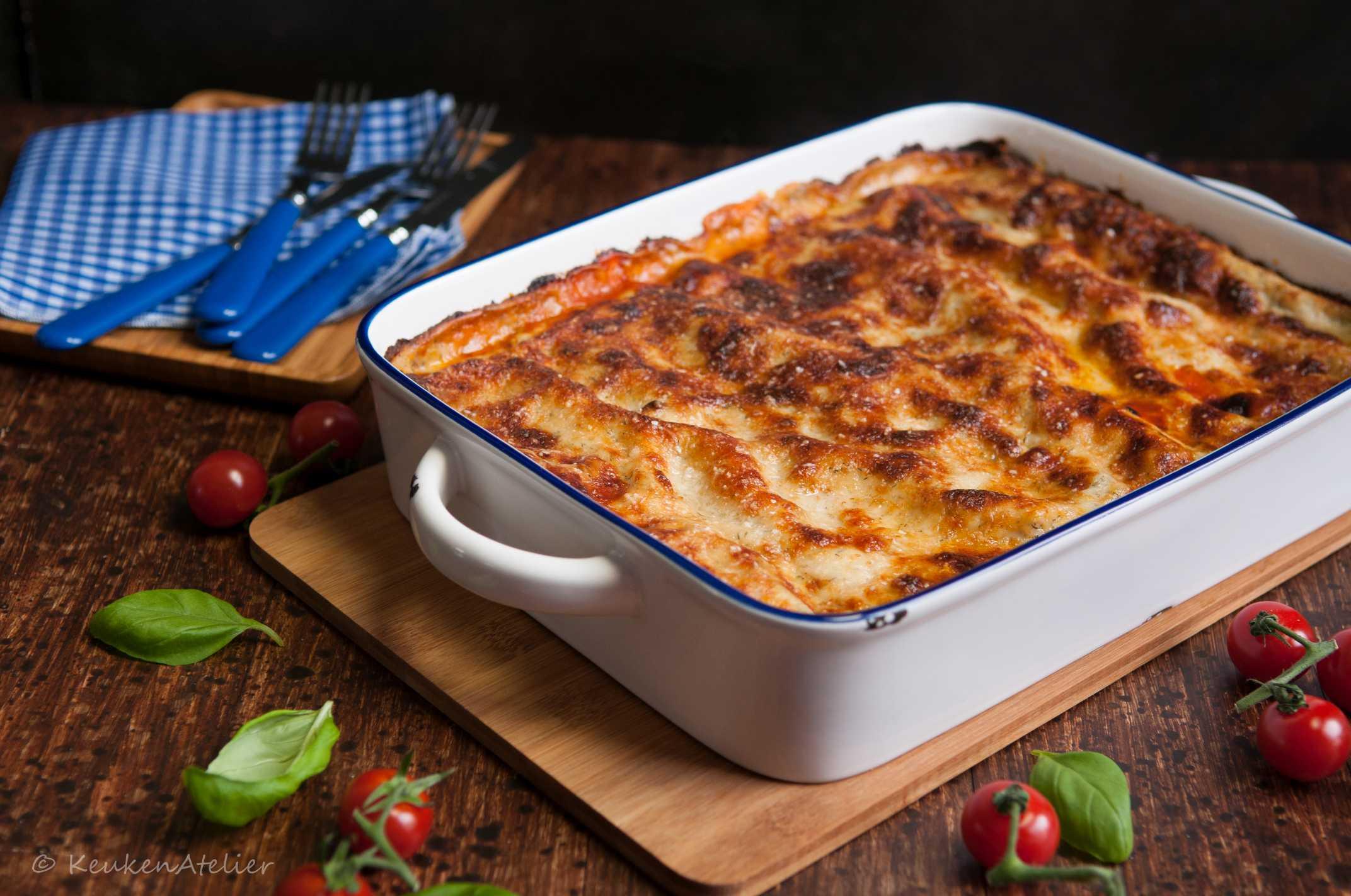lasagne met vis 1