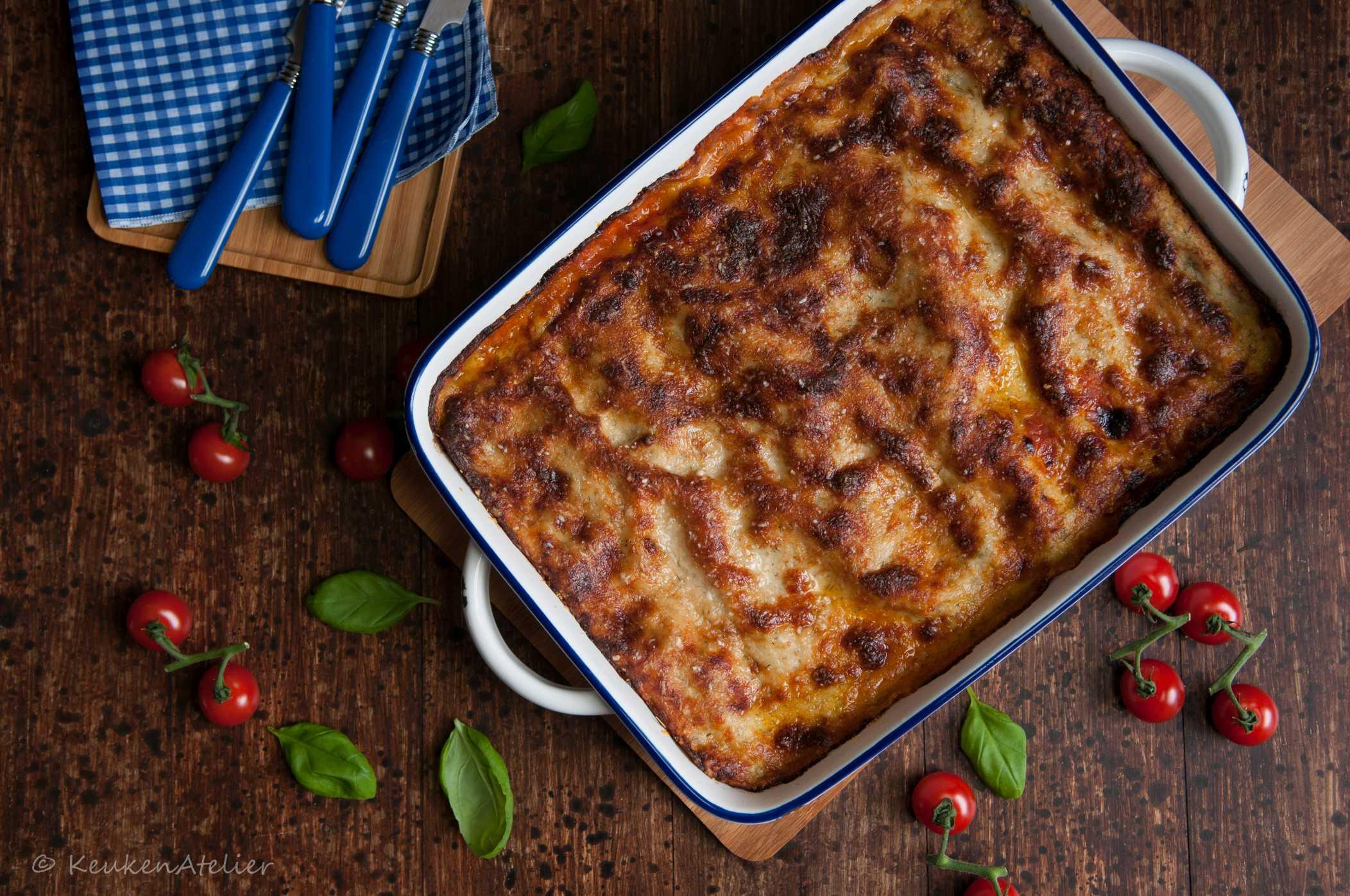 lasagne met vis 3