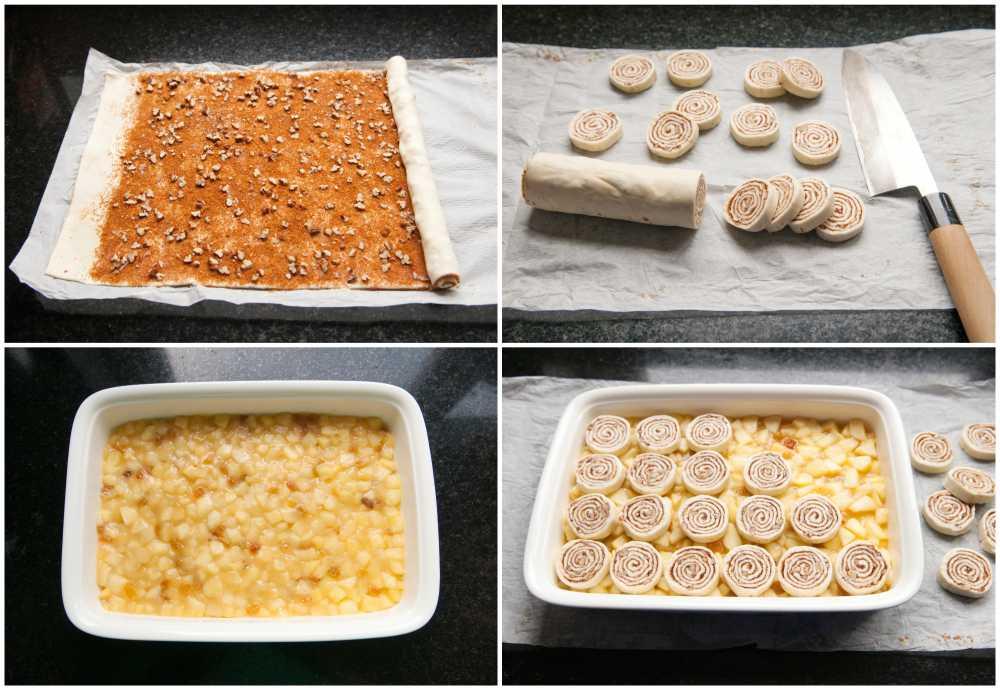 cinnamon roll crumble met appel | how to | KeukenAtelier