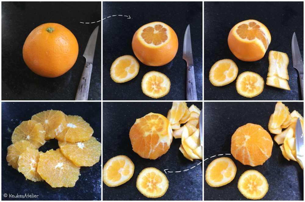 sinaasappel pellen | KeukenAtelier