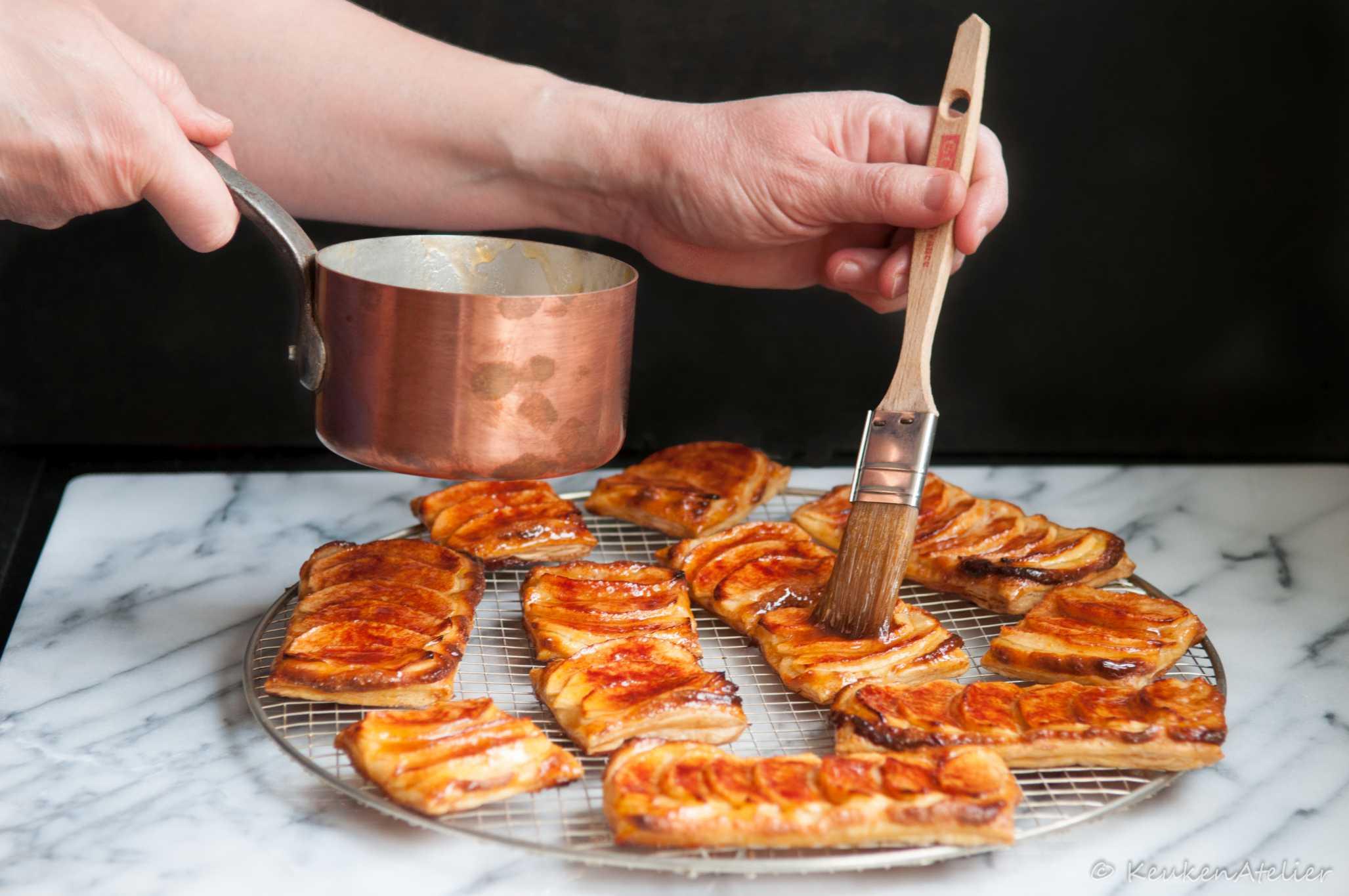 appelmeisjes insmeren | KeukenAtelier