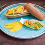 kipkerrie salade met abrikozen en mango | KeukenAtelier