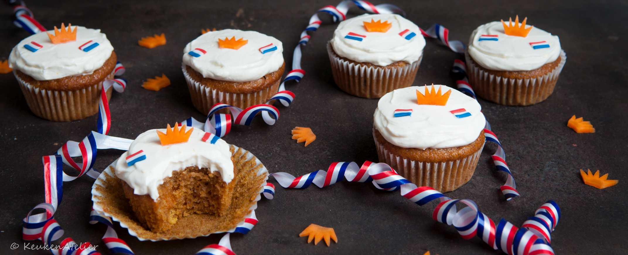 Koningsdag cupcake - KeukenAtelier