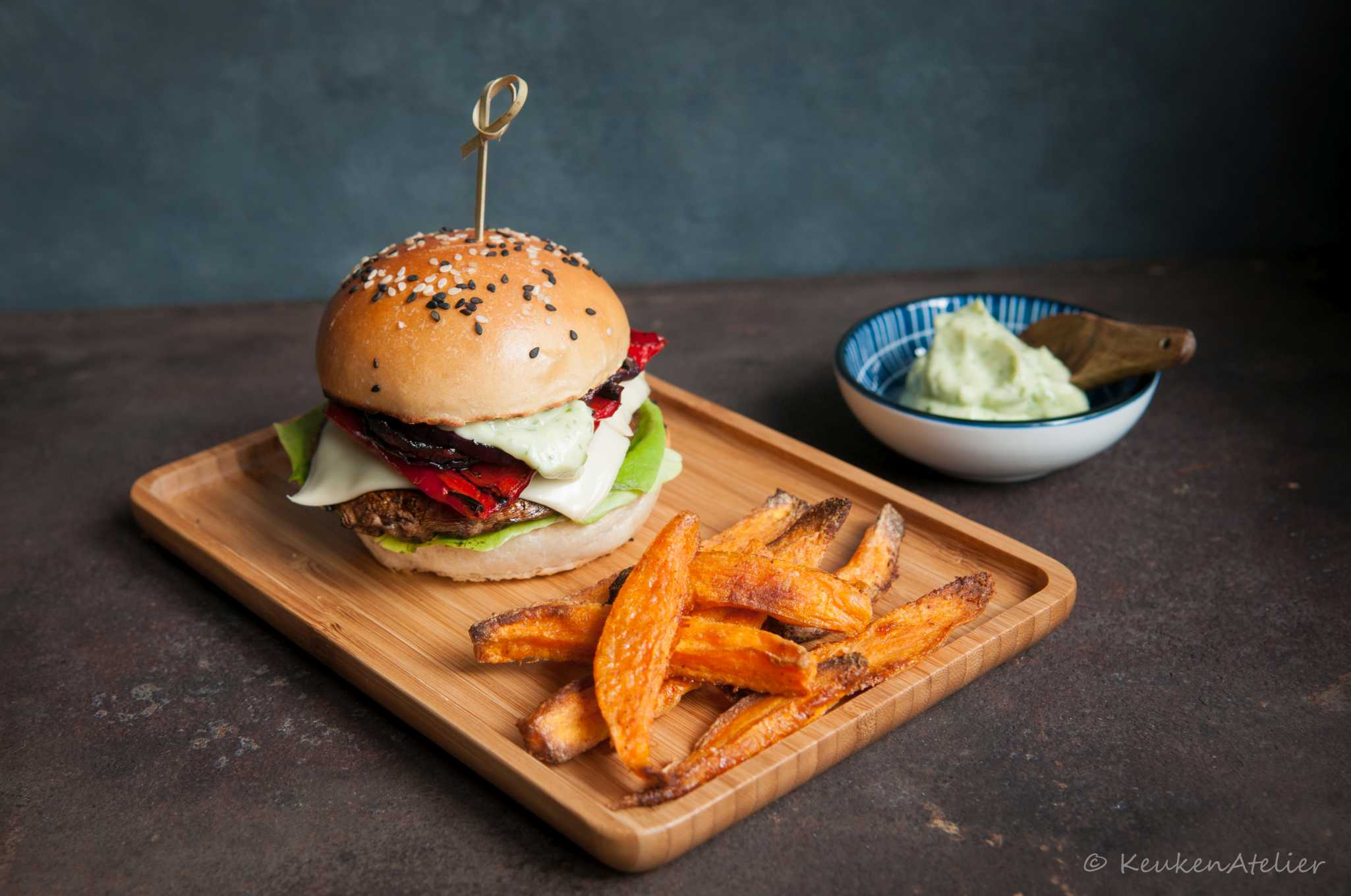 portobello burger 1   KeukenAtelier