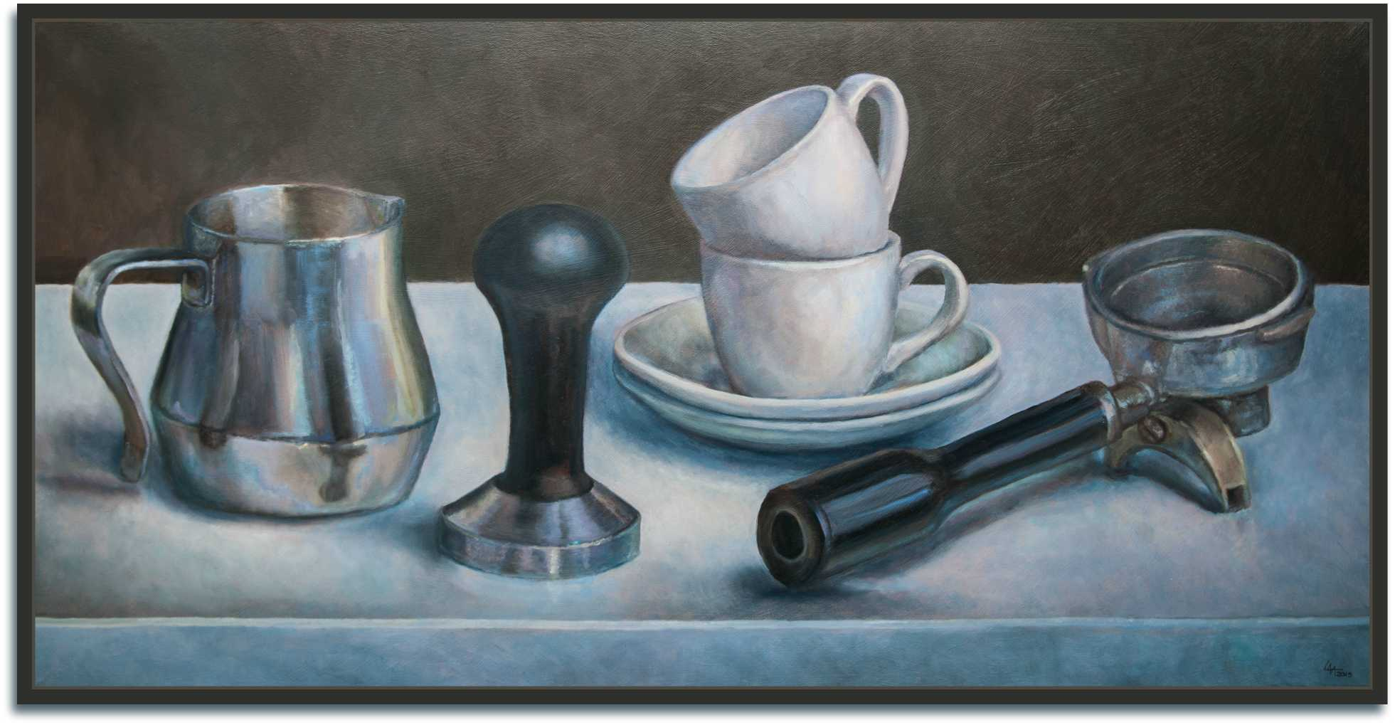 espresso schilderij | KeukenAtelier
