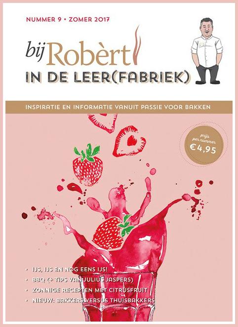 KeukenAtelier in magazine bij Robert (cover)
