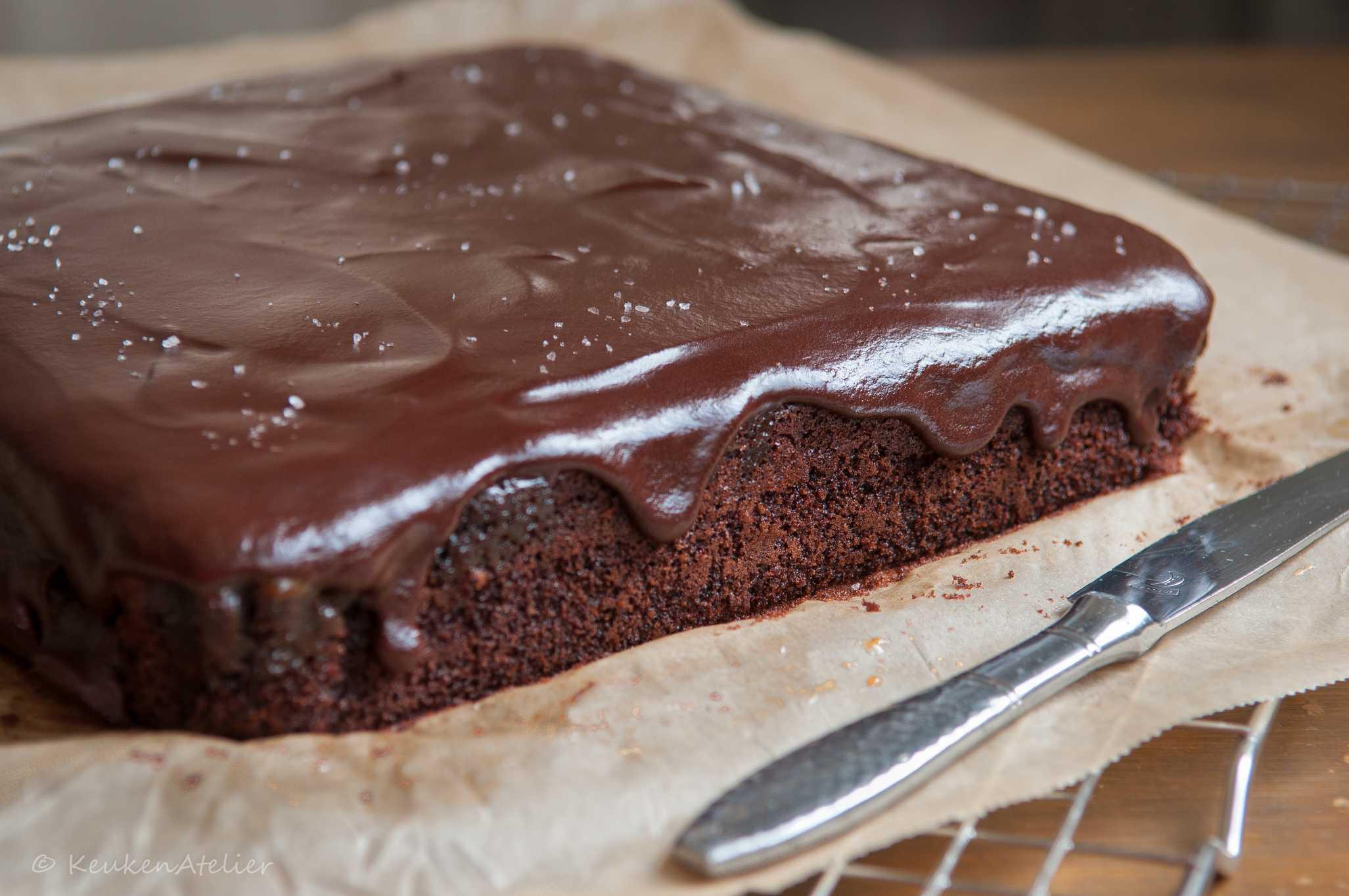 chocolade karamel cake 3   KeukenAtelier