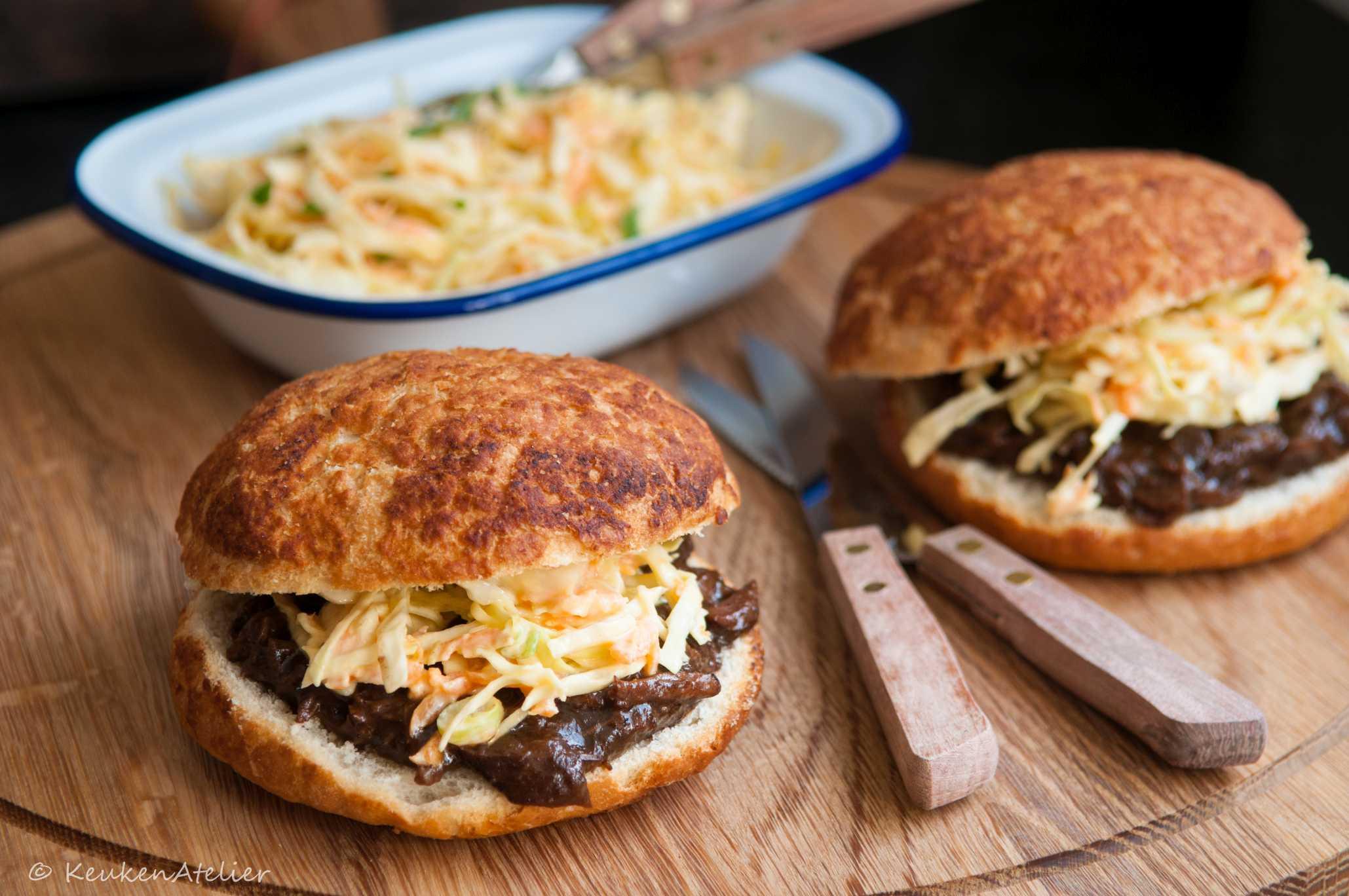 broodje stoofvlees | KeukenAtelier