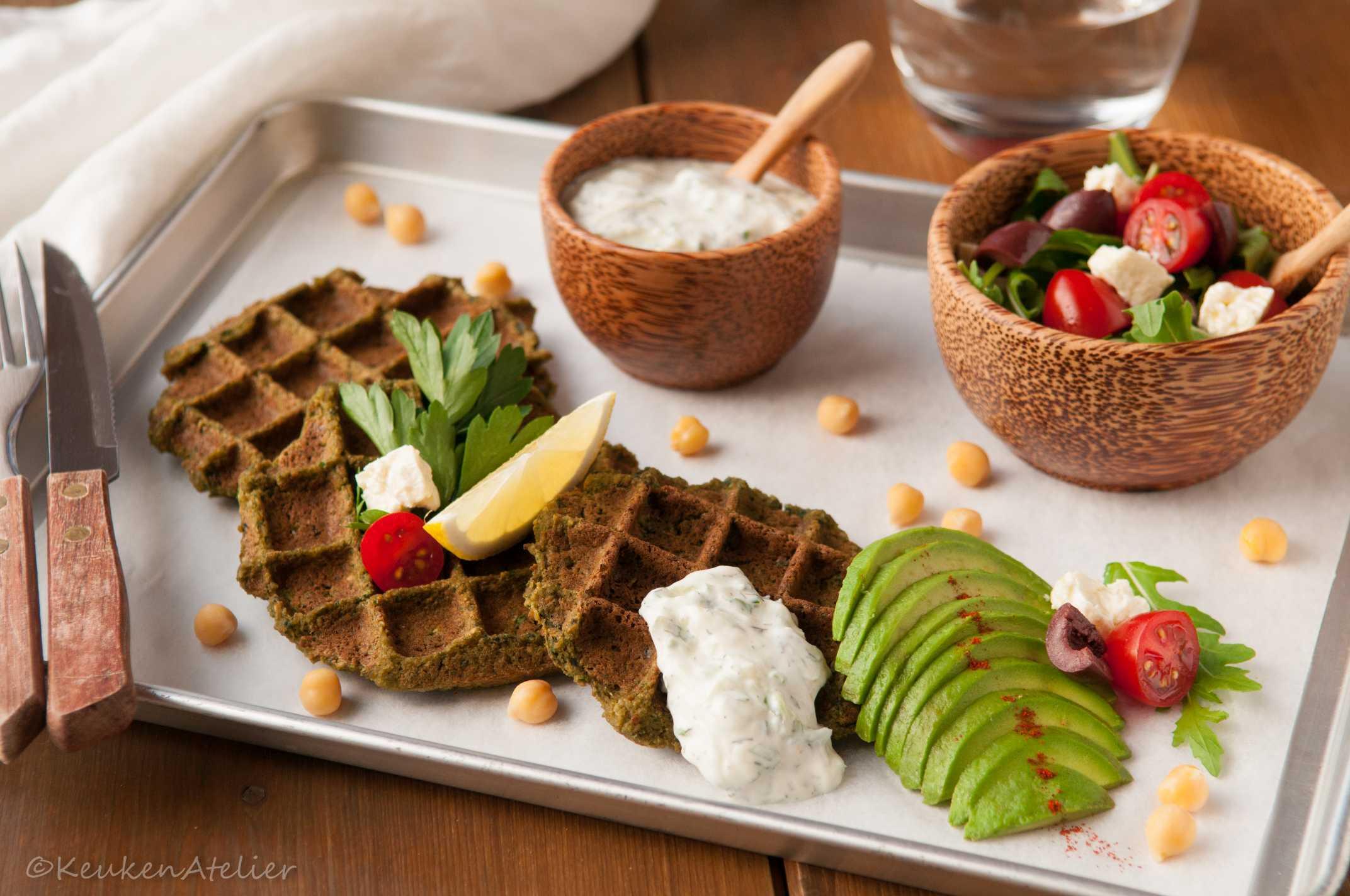 falafel wafel 2 | KeukenAtelier