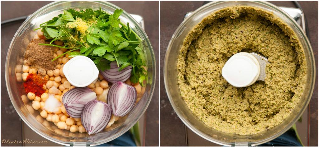 falafel wafel collage 1 | KeukenAtelier