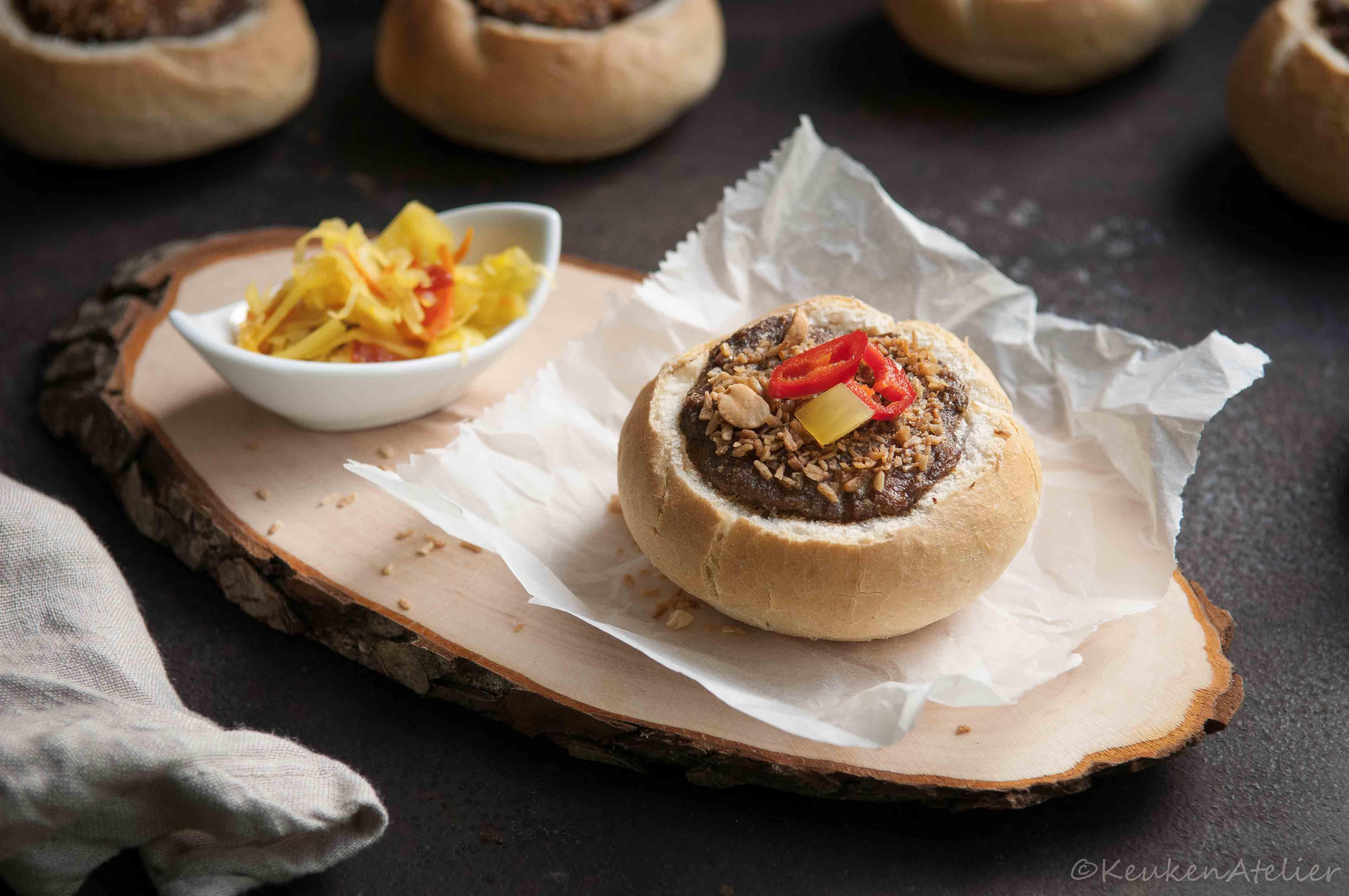 Indonesische gehaktbroodjes | KeukenAtelier